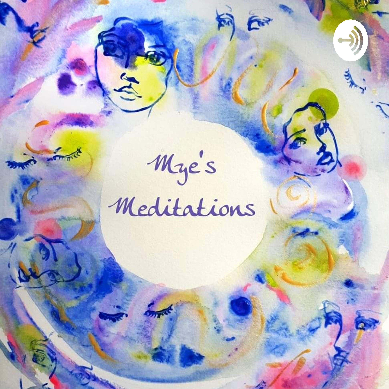 Mye's Meditations & Lorraine Pool talk about creating Spirit Art