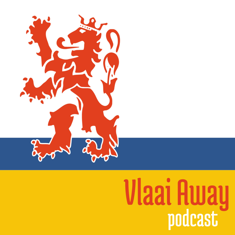 Vlaai Away - De podcast over Limburgers buiten Limburg logo