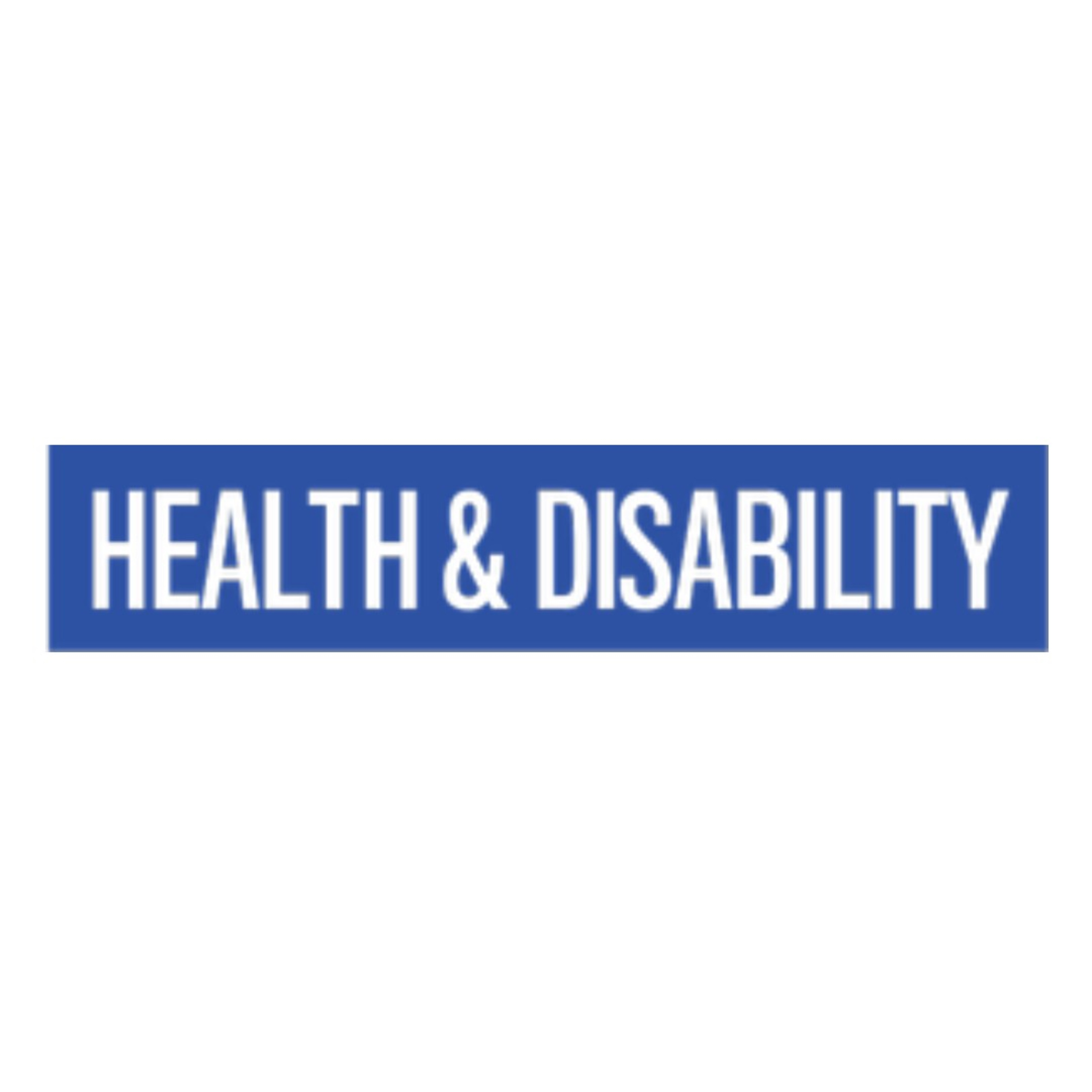 Welcome to Health & Disability
