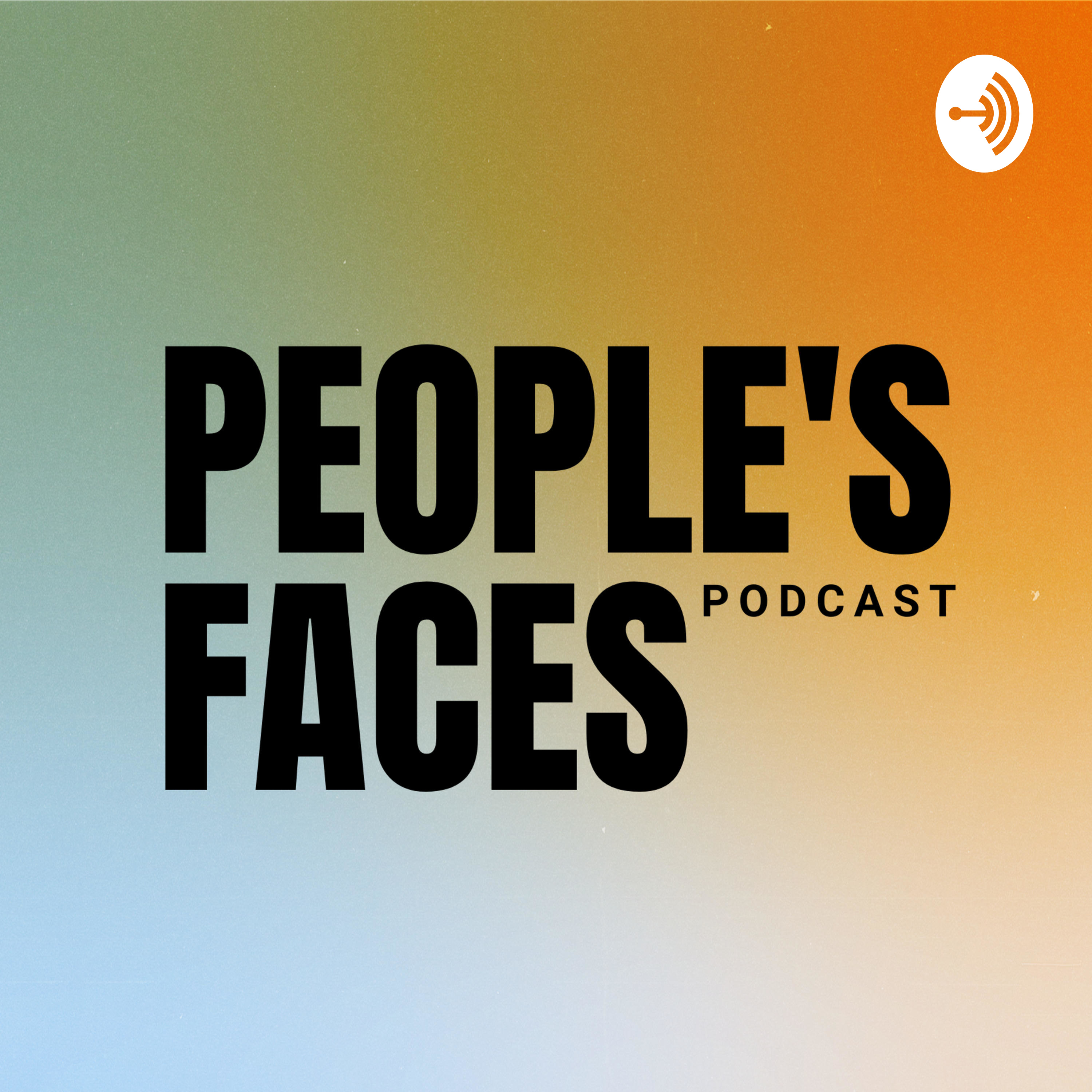 People's Faces Podcast logo