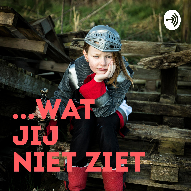 ... Wat jij niet ziet - een podcast voor dappere kinderen  logo