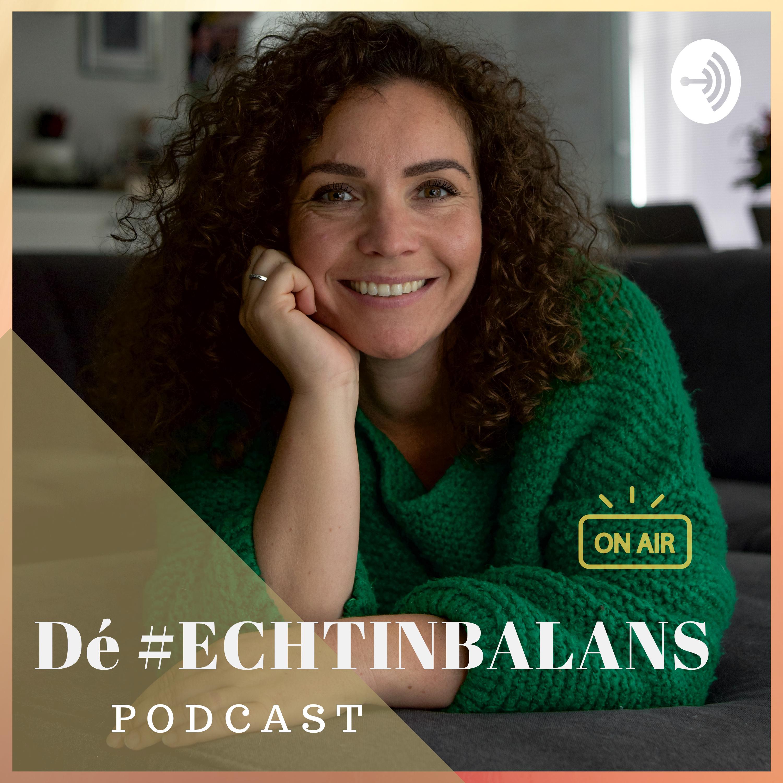 Dé #ECHTINBALANS podcast logo