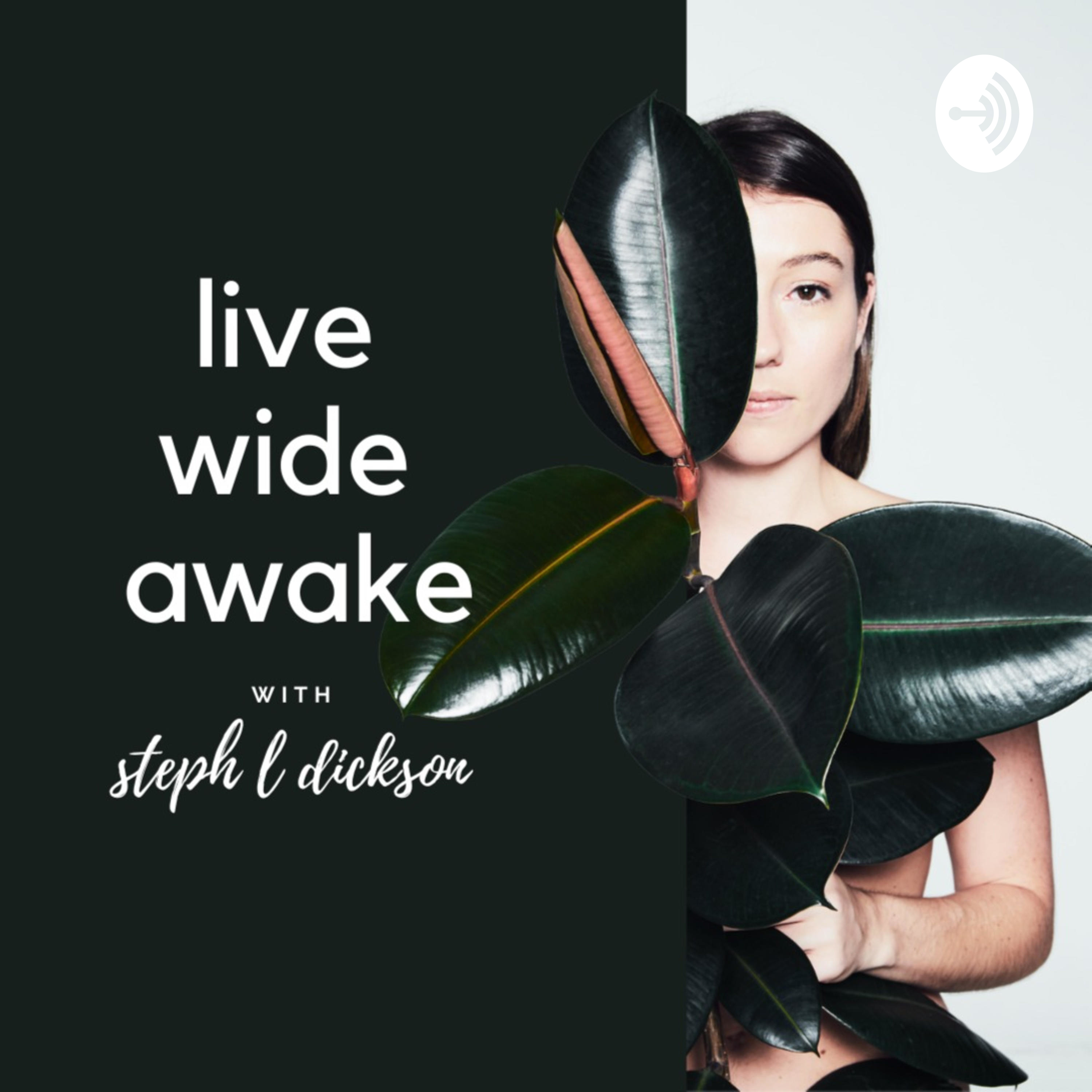 Live Wide Awake - Sustainability & Conscious Leadership podcast show image