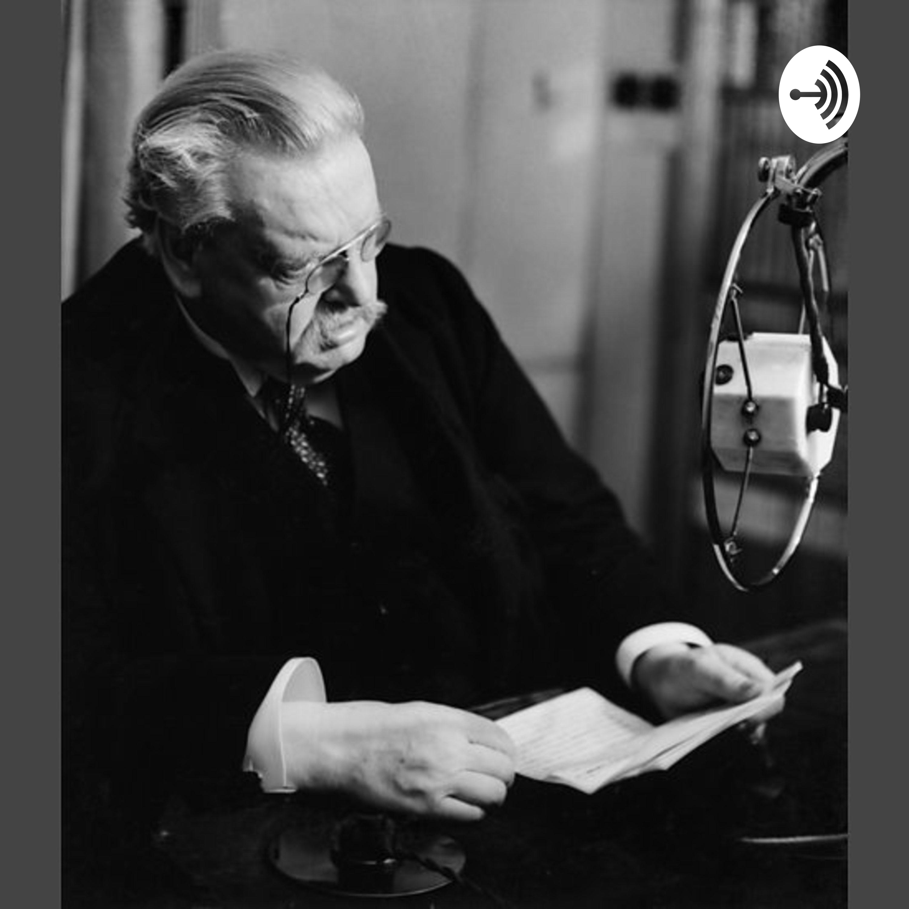 Benny and Chesterton Morning Show Podcast - Jack Visits Halls of Ivy - Phil Harris-Alice Fay Show - Will Jack Renew Phil's Contract? - Chesterton Heretics - Importance of Orthodoxy - Negative Spirit