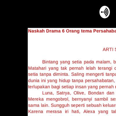 Full Dialog Naskah Drama Legenda Sangkuriang Bahasa Jawa A Podcast On Anchor