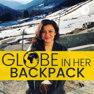 Globe in Her Backpack