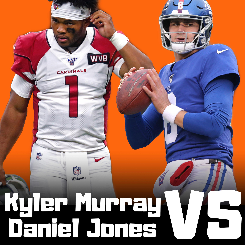 Who has more Fantasy Football Value Kyler Murray VS Daniel Jones? 2020