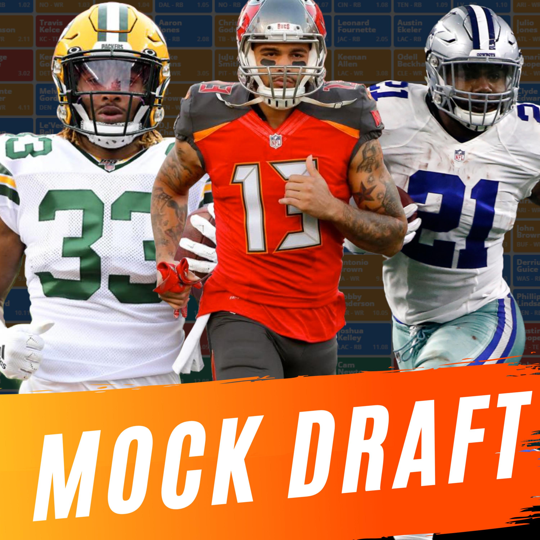 Fantasy Football Mock Draft/Podcast 2020