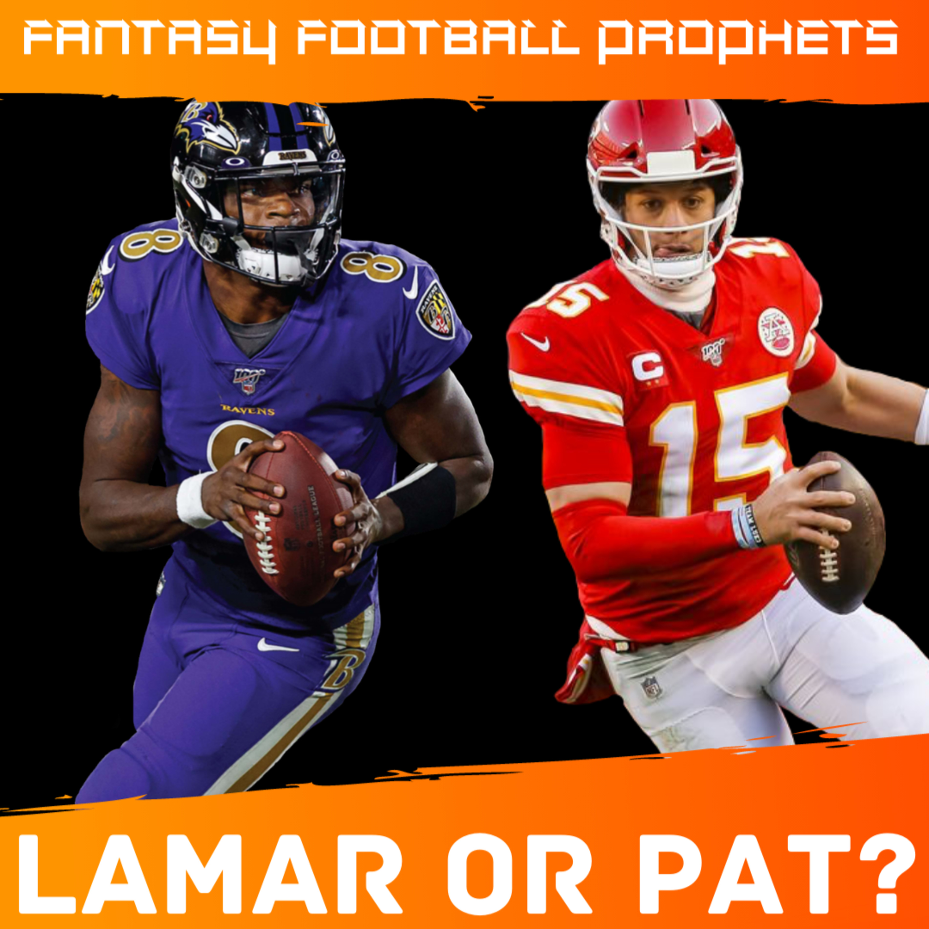Who Is The Better Fantasy QB? Mahomes VS Lamar The NFL's Best Rivalry | Fantasy Football Prophets