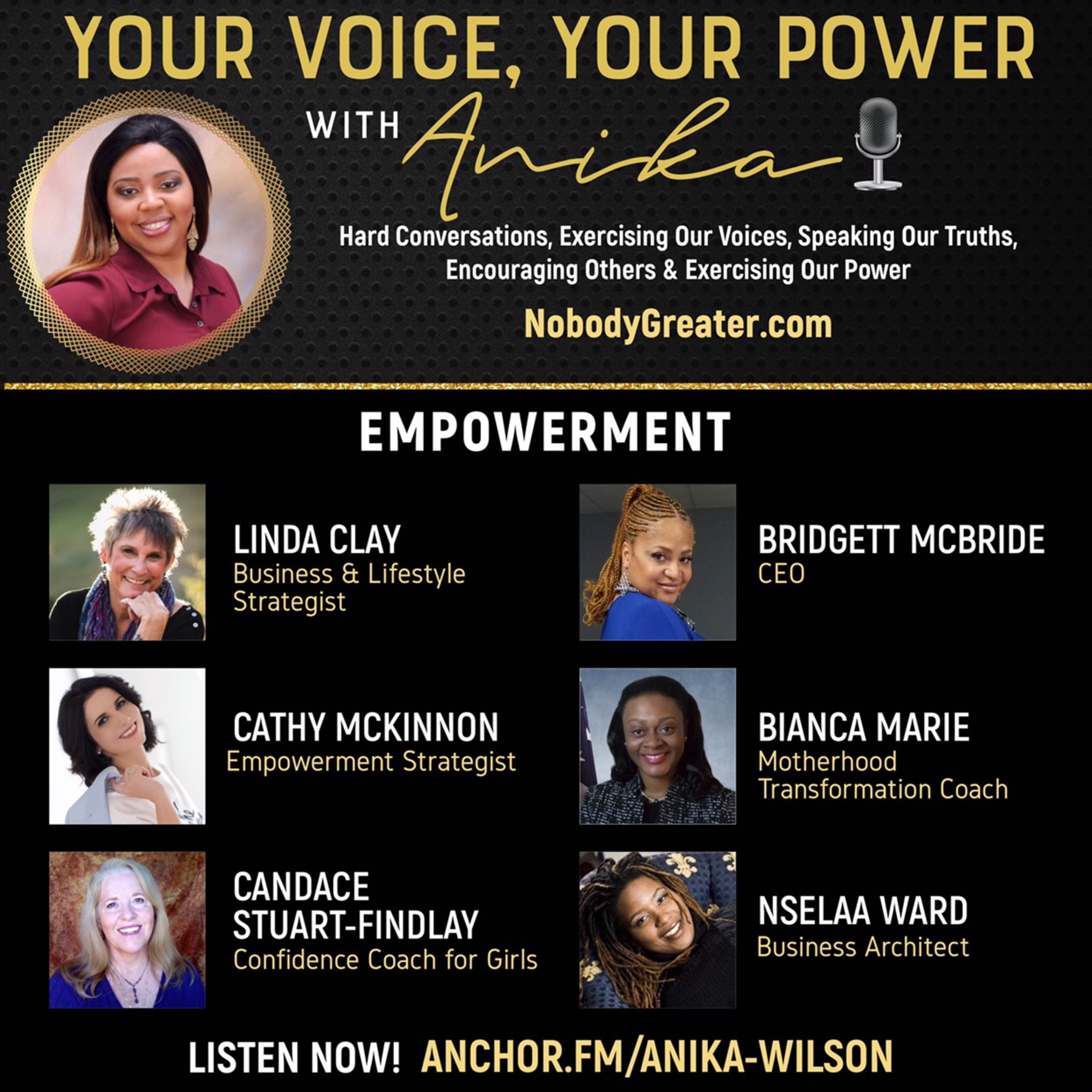 Empowerment Panel-From All Walks to Power