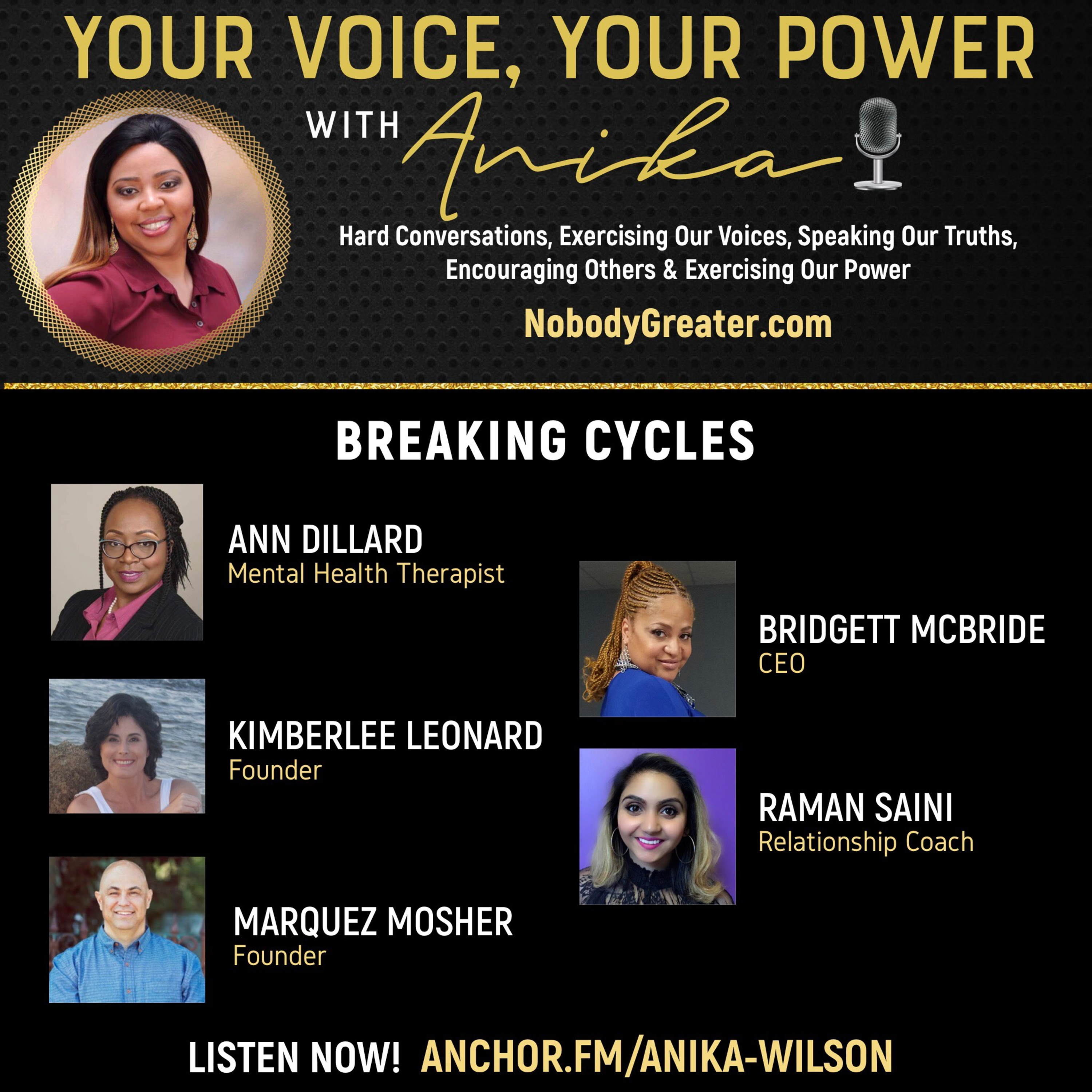 Breaking Cycles-Power Panel