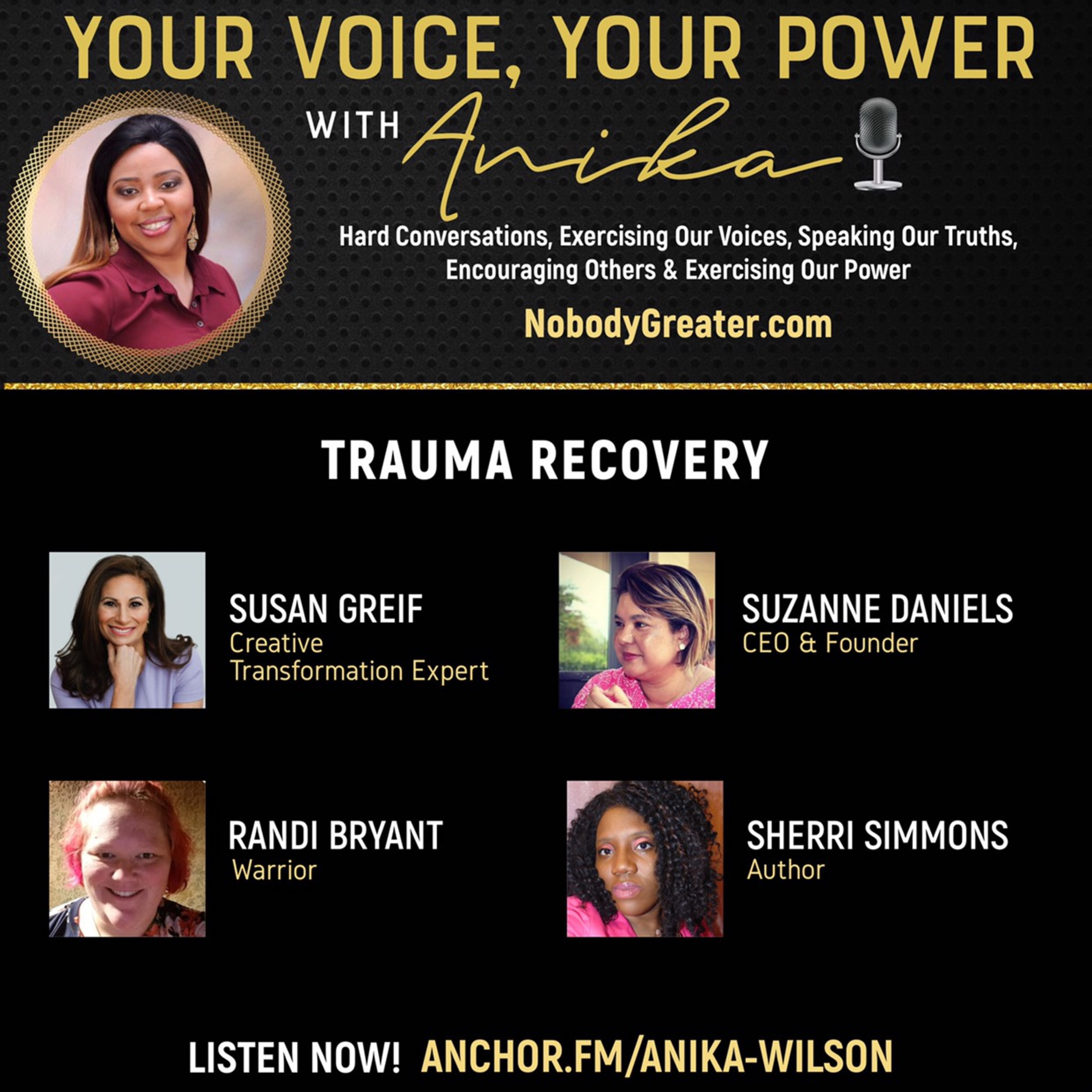 Trauma Recovery-Power Panel of Experts