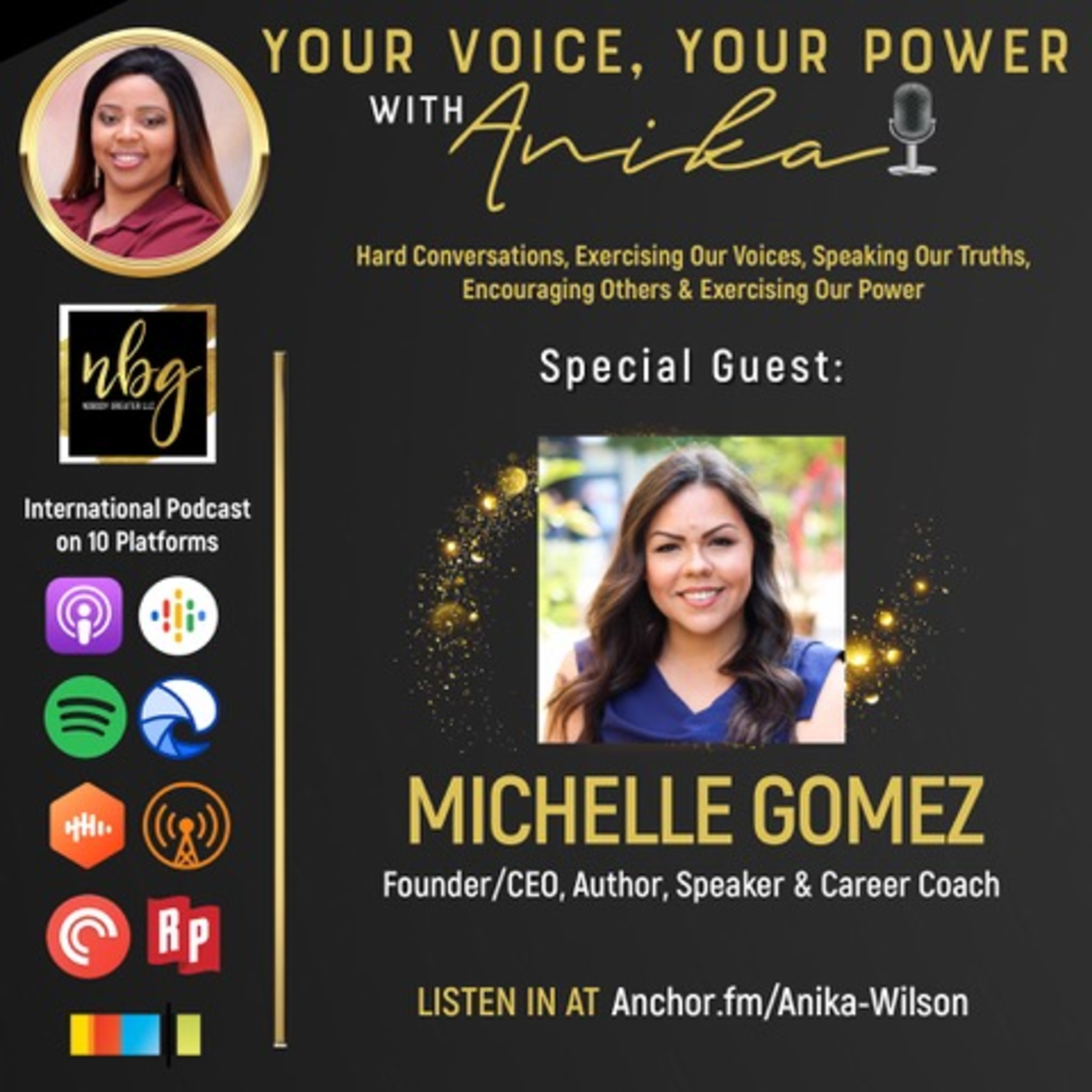 Career Coaching and So much more with Michelle Gomez