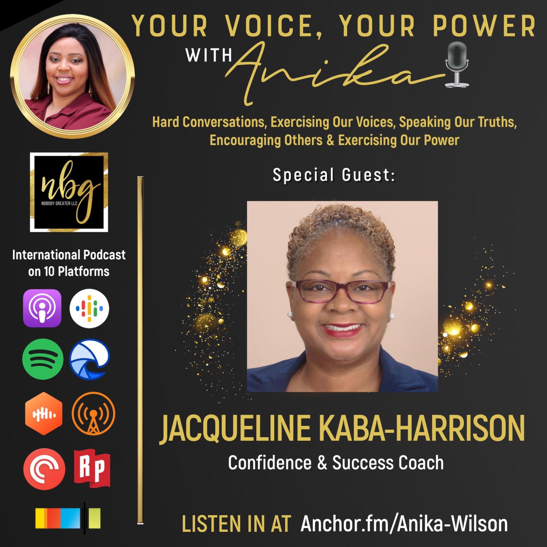 """""""The Success"""" Coach-Jacqueline Kaba-Harrison"""