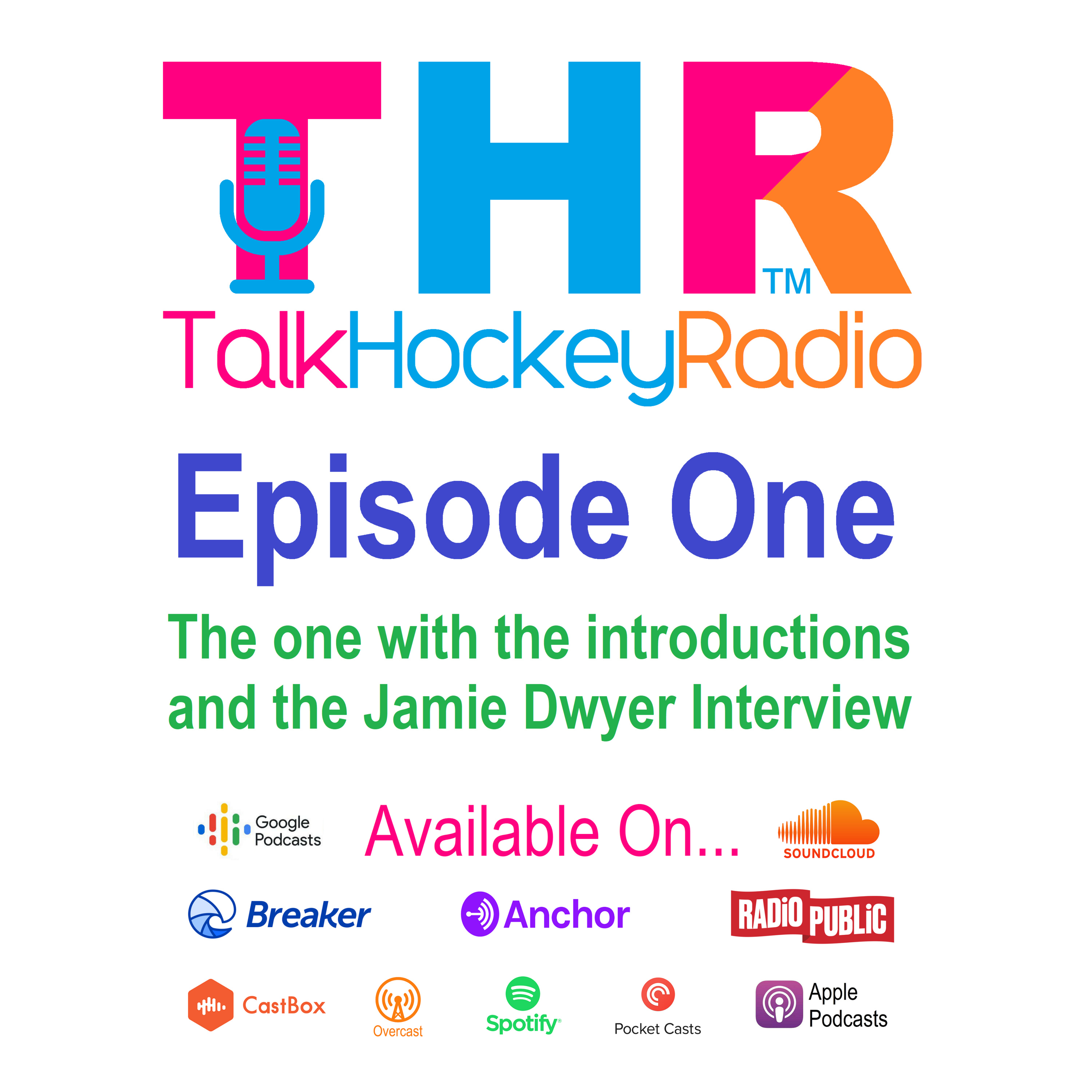 Episode 1 - Talk Hockey Radio - The one with the Introductions & The Jamie Dwyer Interview