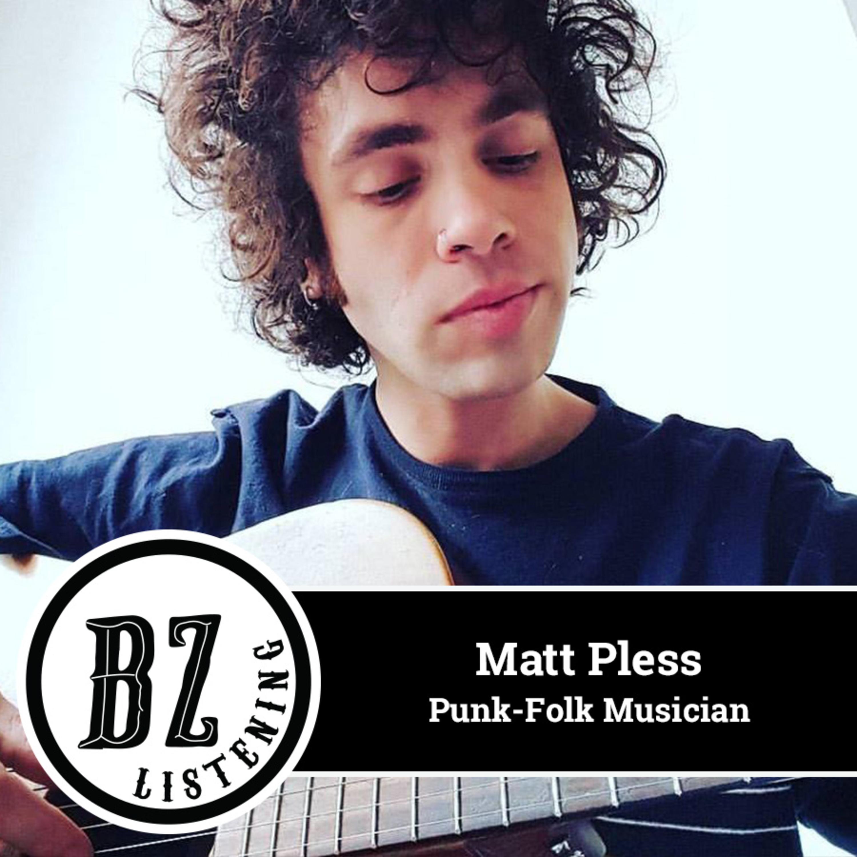 28. Matt Pless - Punk-Folk Musician