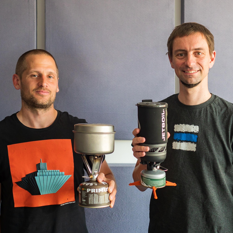 Séria o vybavení: O turistických varičoch s Mišom a Ľubom