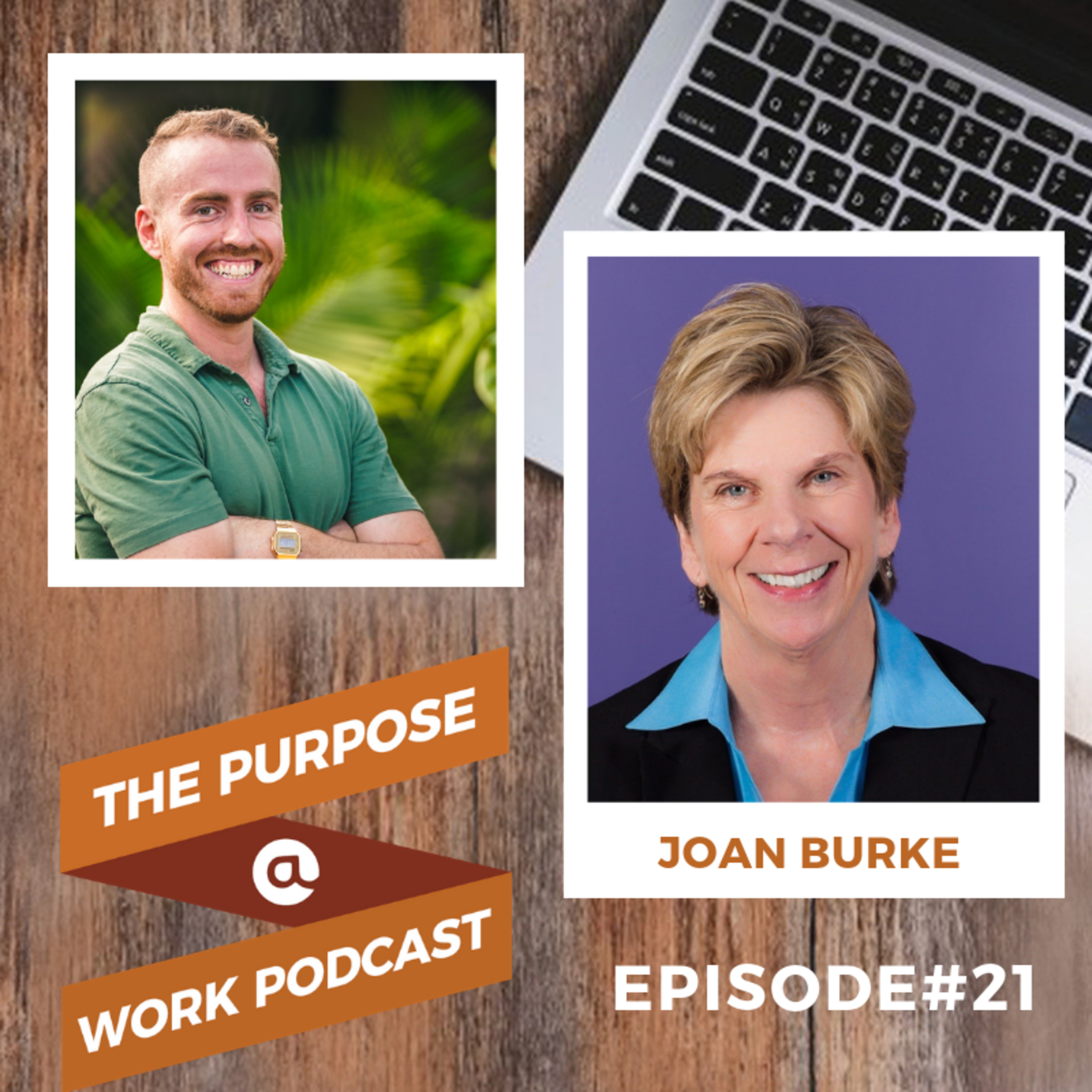 #21 Joan Burke - Chief People Officer @DocuSign: Diversity, Inclusion and the Gift of Feedback