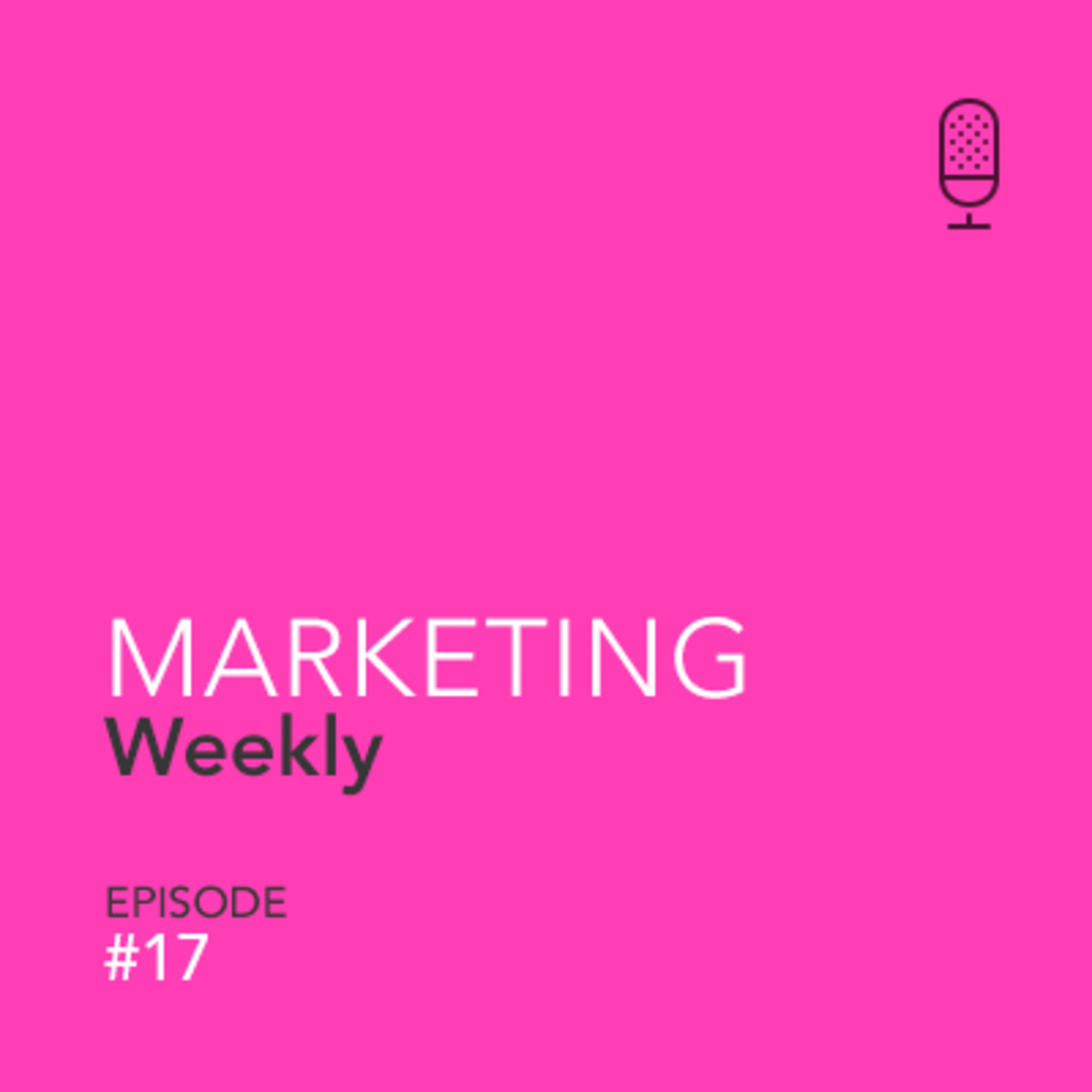 Marketing W17 - Adding some more analytical talk to our lives.