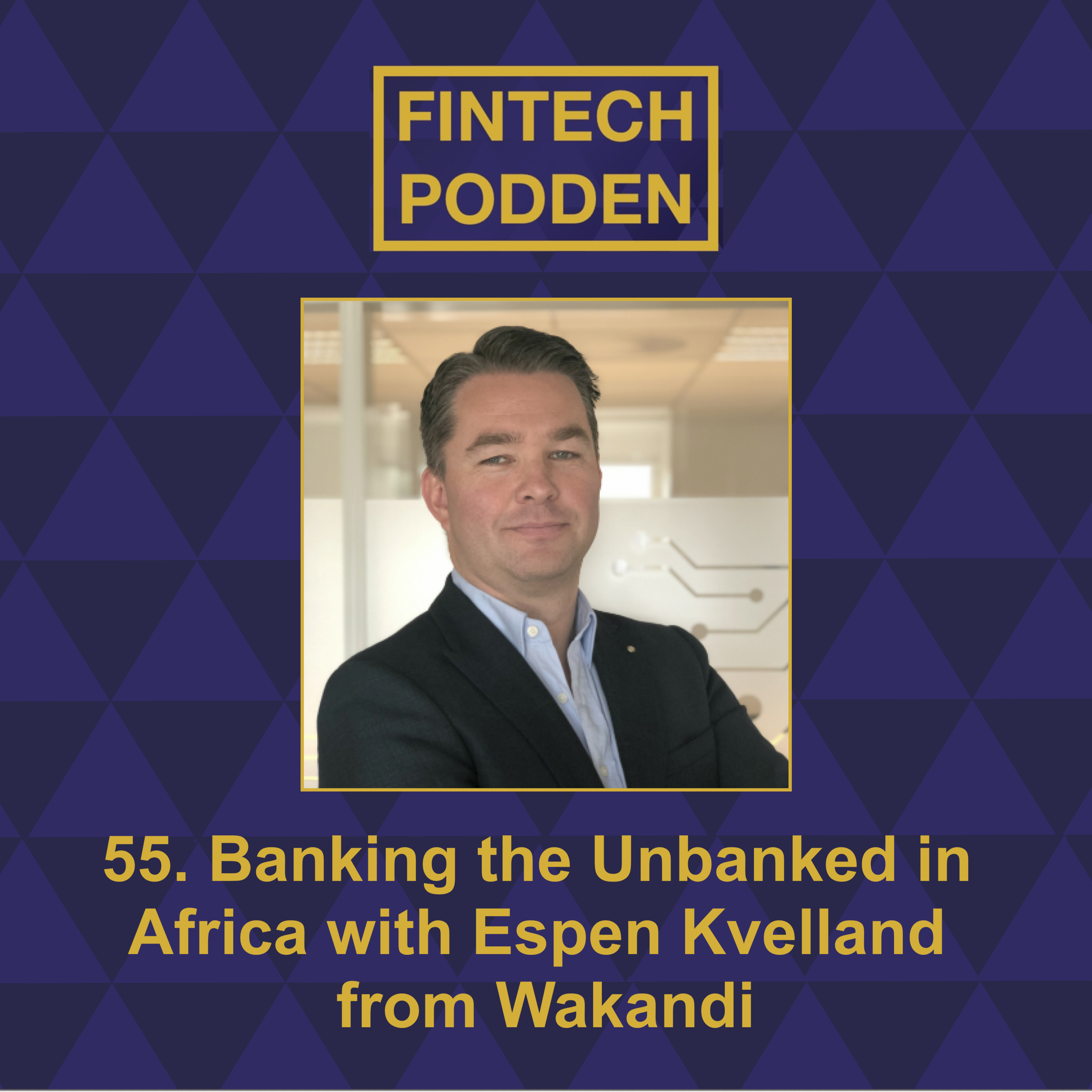 55. Banking the Unbanked in Africa with Espen Kvelland from Wakandi