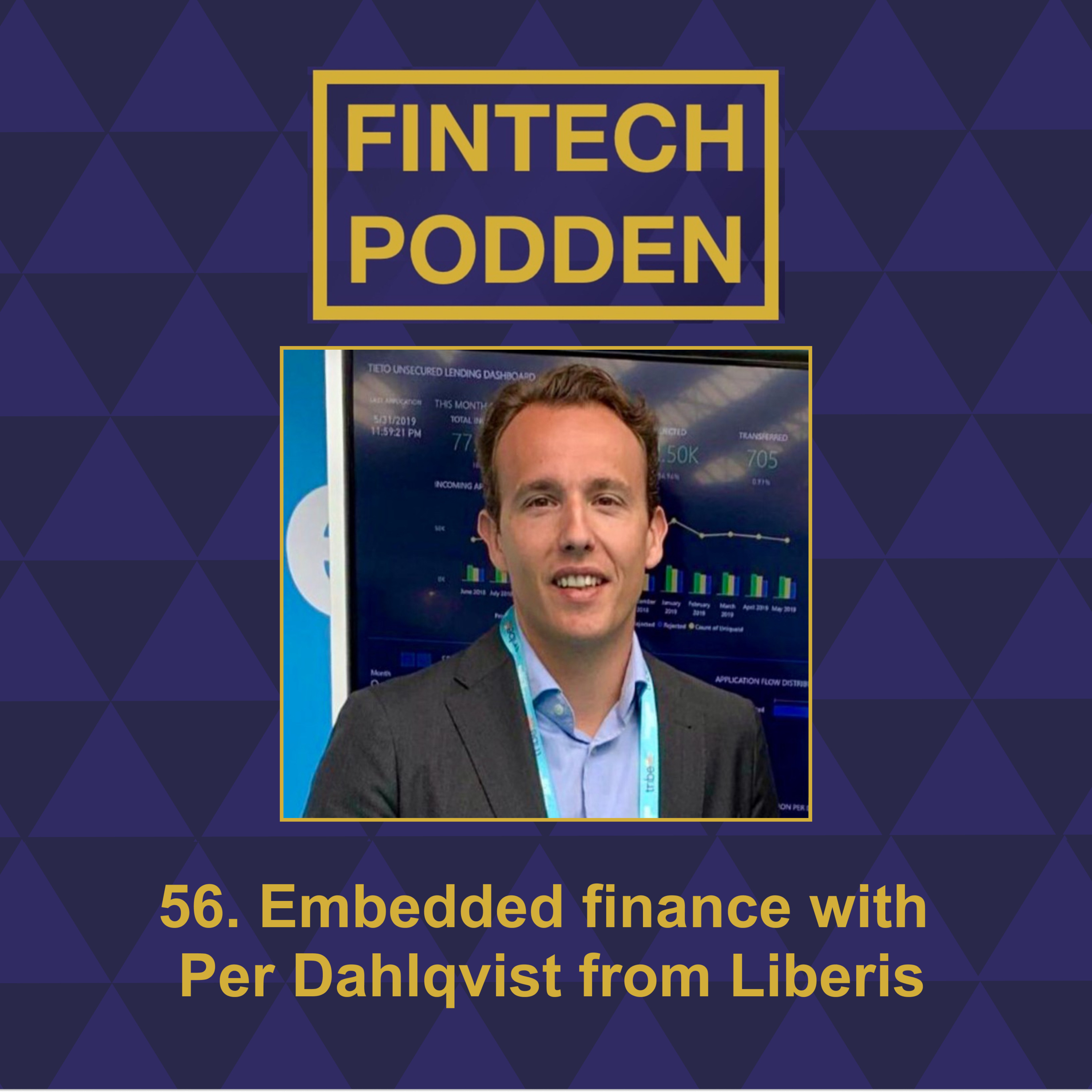 56. Embedded finance with Per Dahlqvist from Liberis