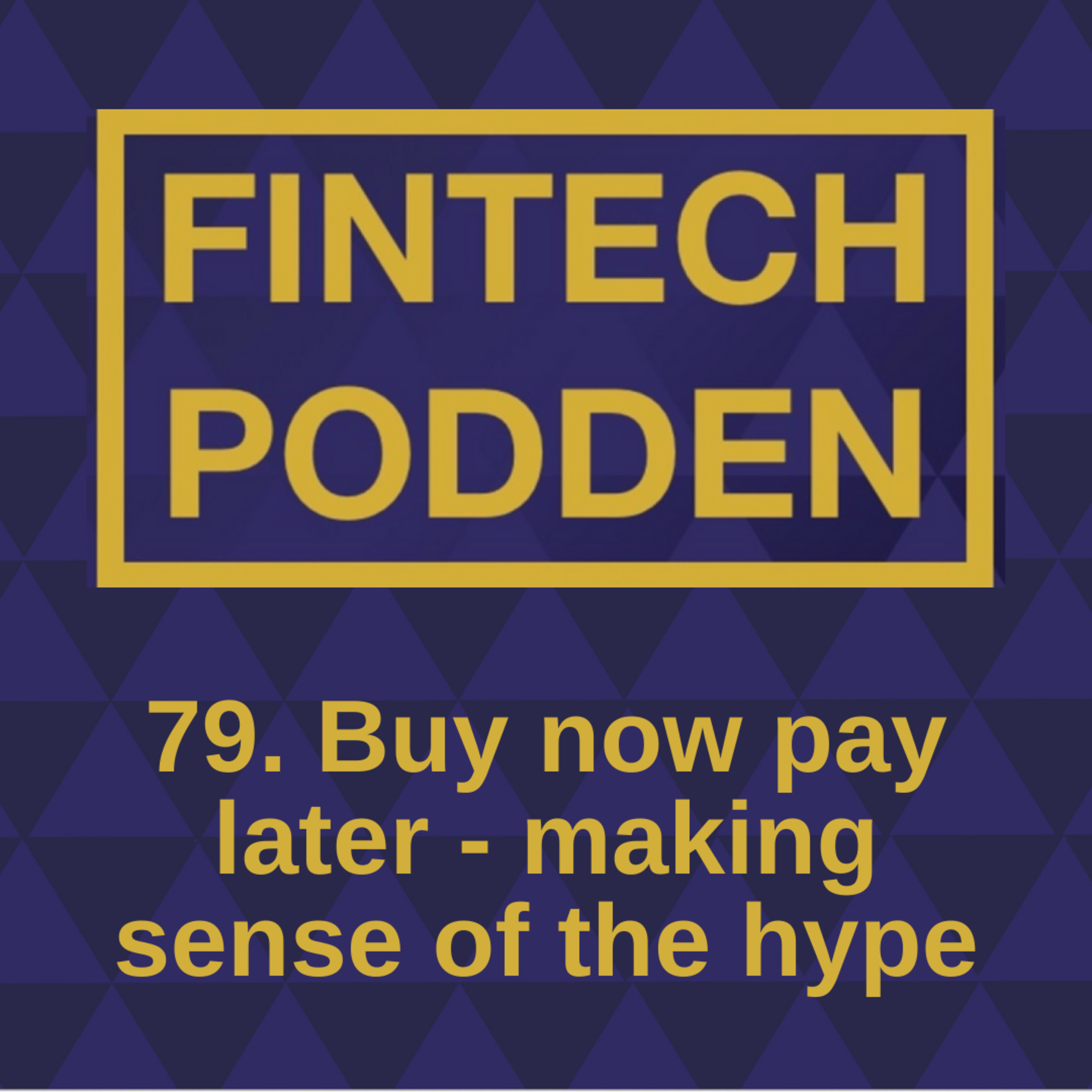 79. Buy now pay later - making sense of the hype