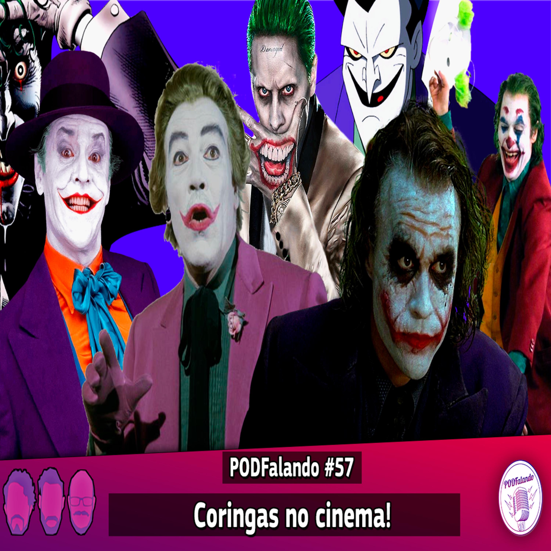 PODFalando #57 - Coringas no Cinema!