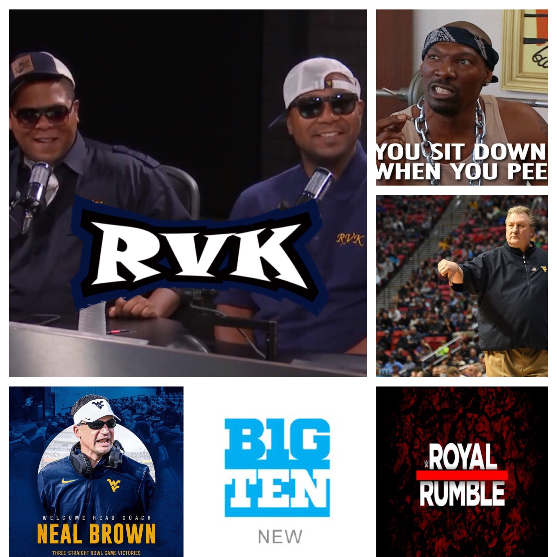 Ep.88-Basketball, Football, B10 Royal Rumble & Pee Etiquette