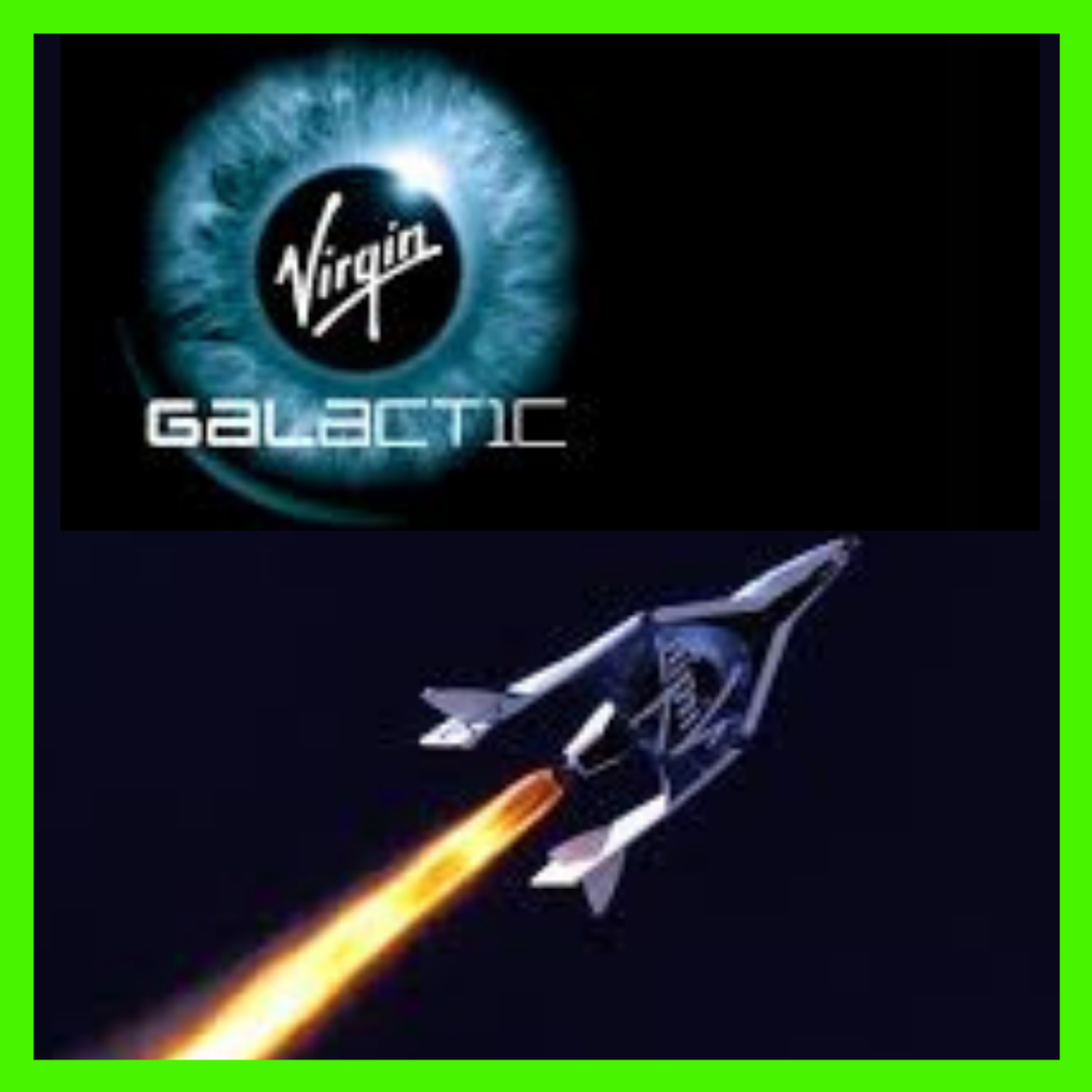 """Stock Talk - Virgin Galactic - """"Rocket Your Way To Riches!"""" - Your Guide to Building Wealth In The New Space Age"""