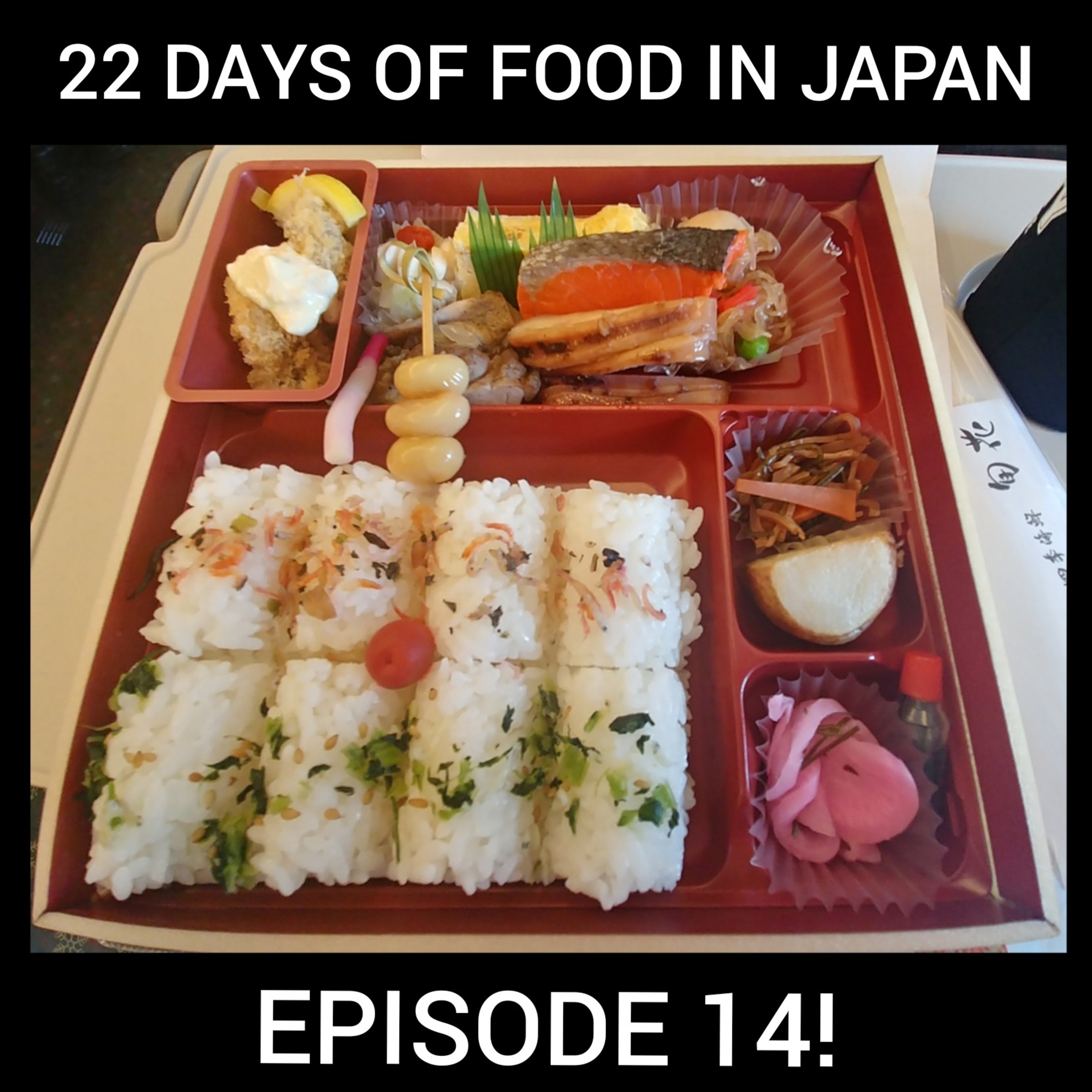 Ep 14: 22 Days of Food in Japan