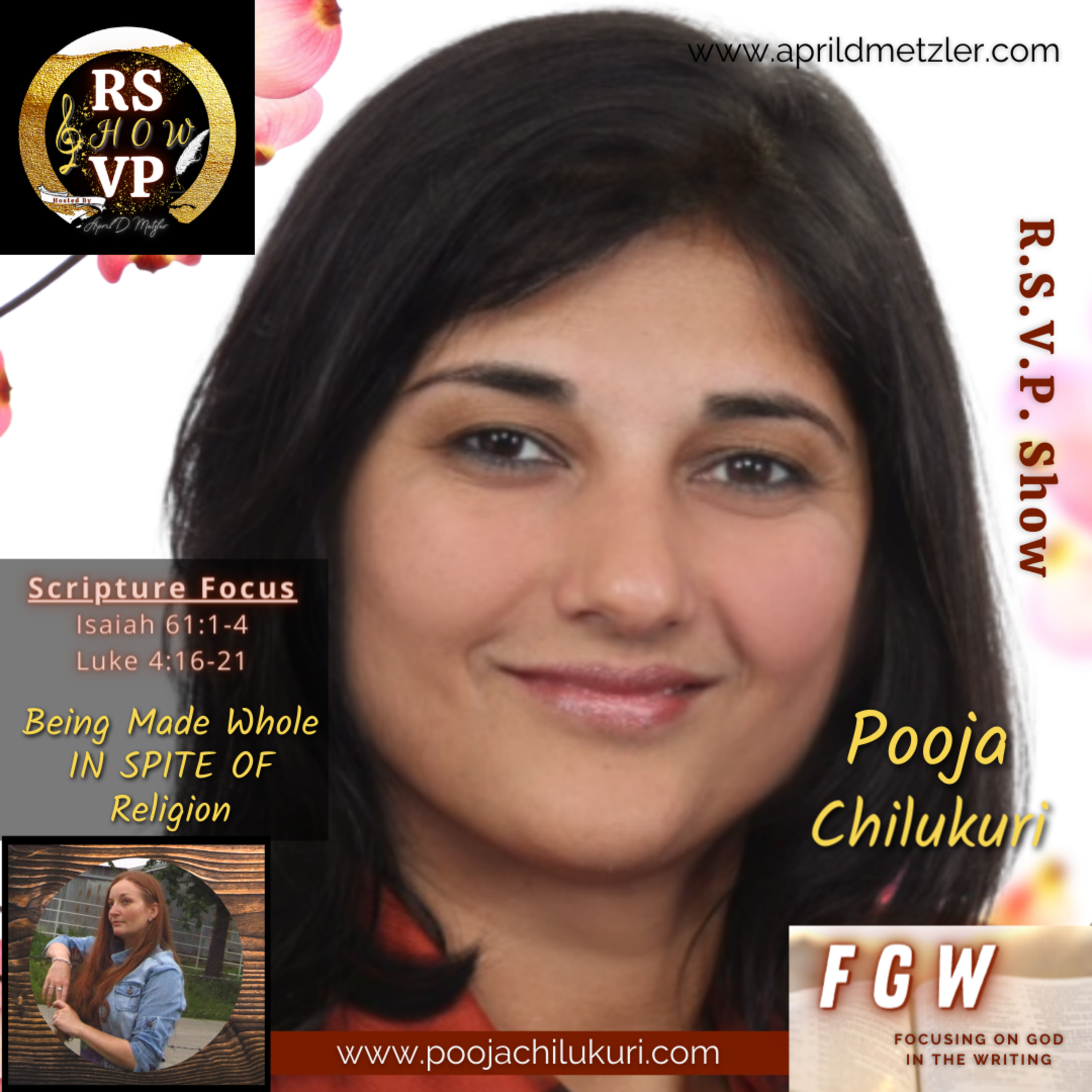 Focusing on God in the Writing – Being Made Whole IN SPITE OF Religion – Pooja Chilukuri