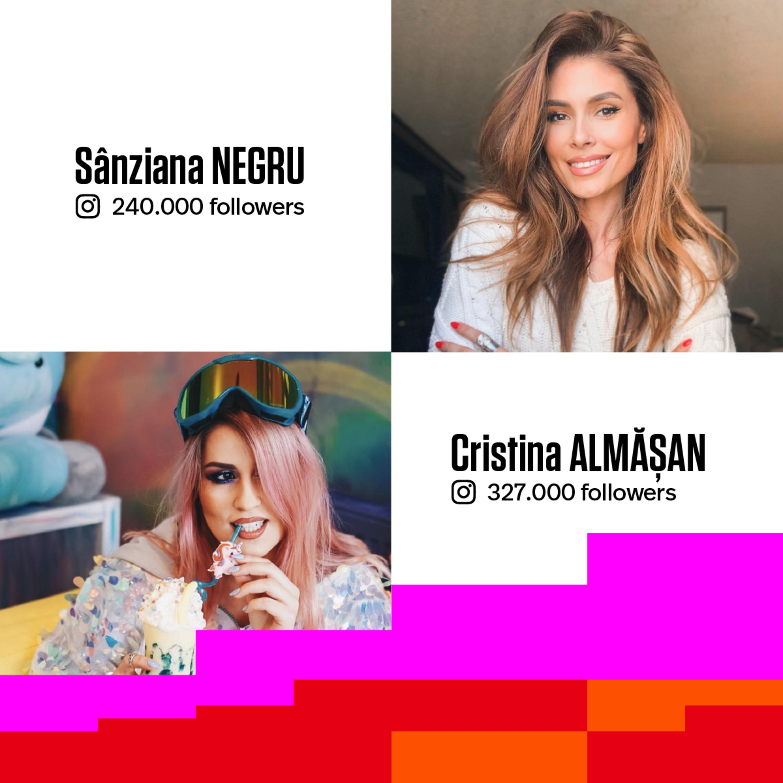 #26 MEET THE INSTAGRAM STARS | Ce se ascunde în spatele faimei social media | Cu: Sânziana Negru si Cristina Almășan