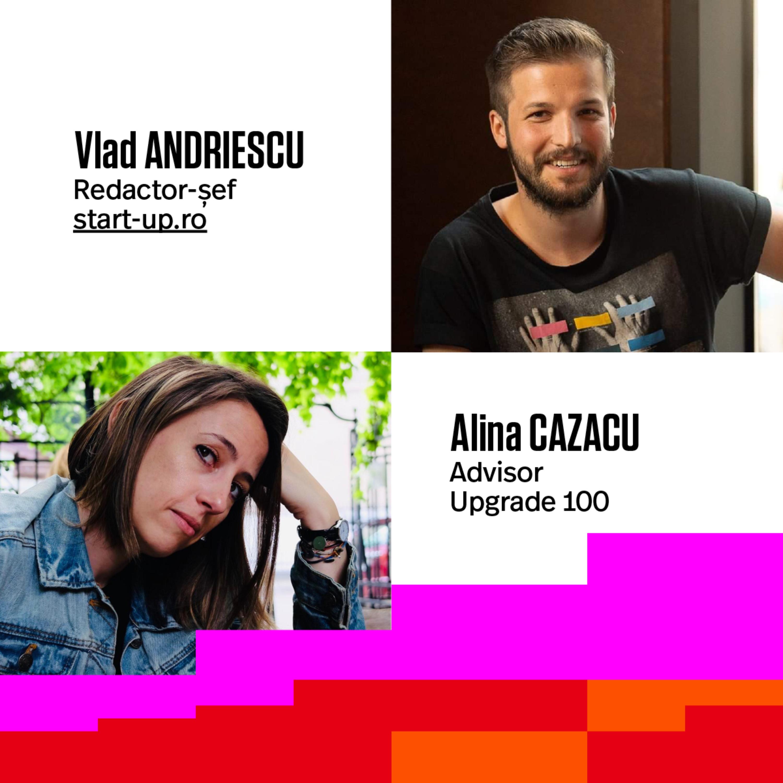 #27 50.000 EURO FINANȚARE PENTRU STARTUPS | Sfaturi pentru proiectele de digital si tech aflate la început | Cu: Vlad Andriescu (Start-up.ro) si Alina Cazacu (consultant)