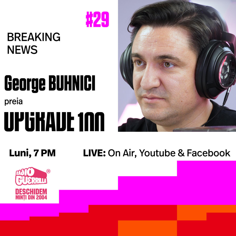 #29 SHOW TAKE OVER: GEORGE BUHNICI – Cavaleria.ro / ProTV face emisiunea în locul lui Dragos Stanca