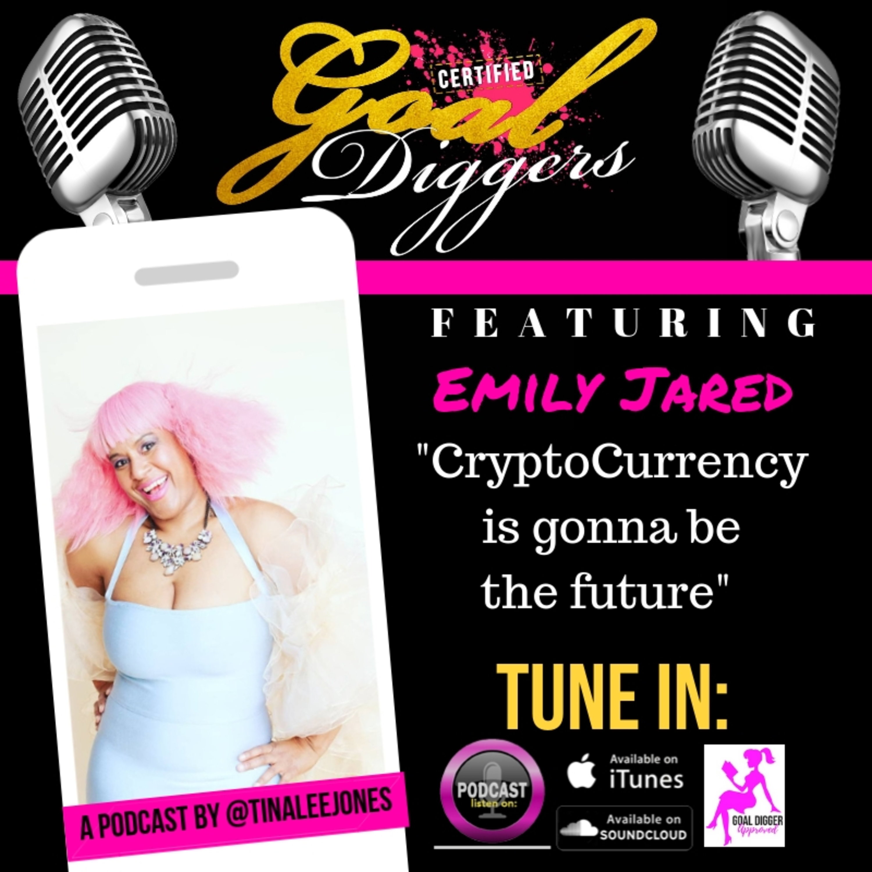 """029: Emily Jarad - """"Cryptocurrency Queen"""""""