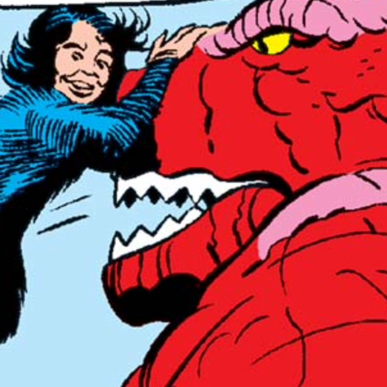 The Kids Present Kudos Kirby - Devil Dinosaur #7 DEMON-TREE!