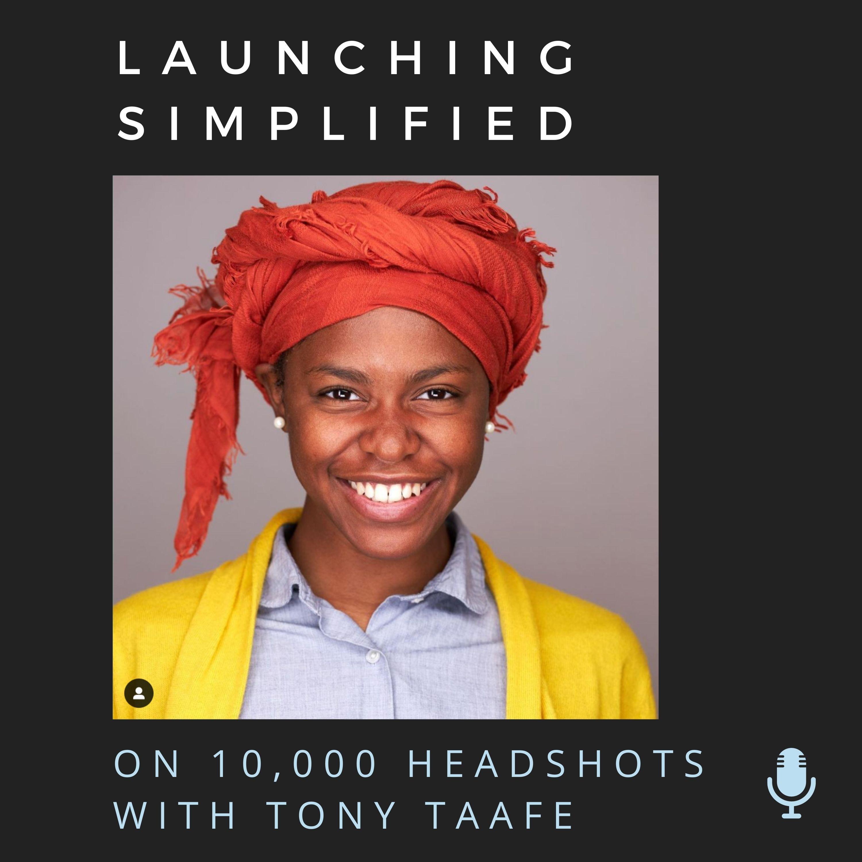 Photographer Tony Taafe on 10,000 Headshots
