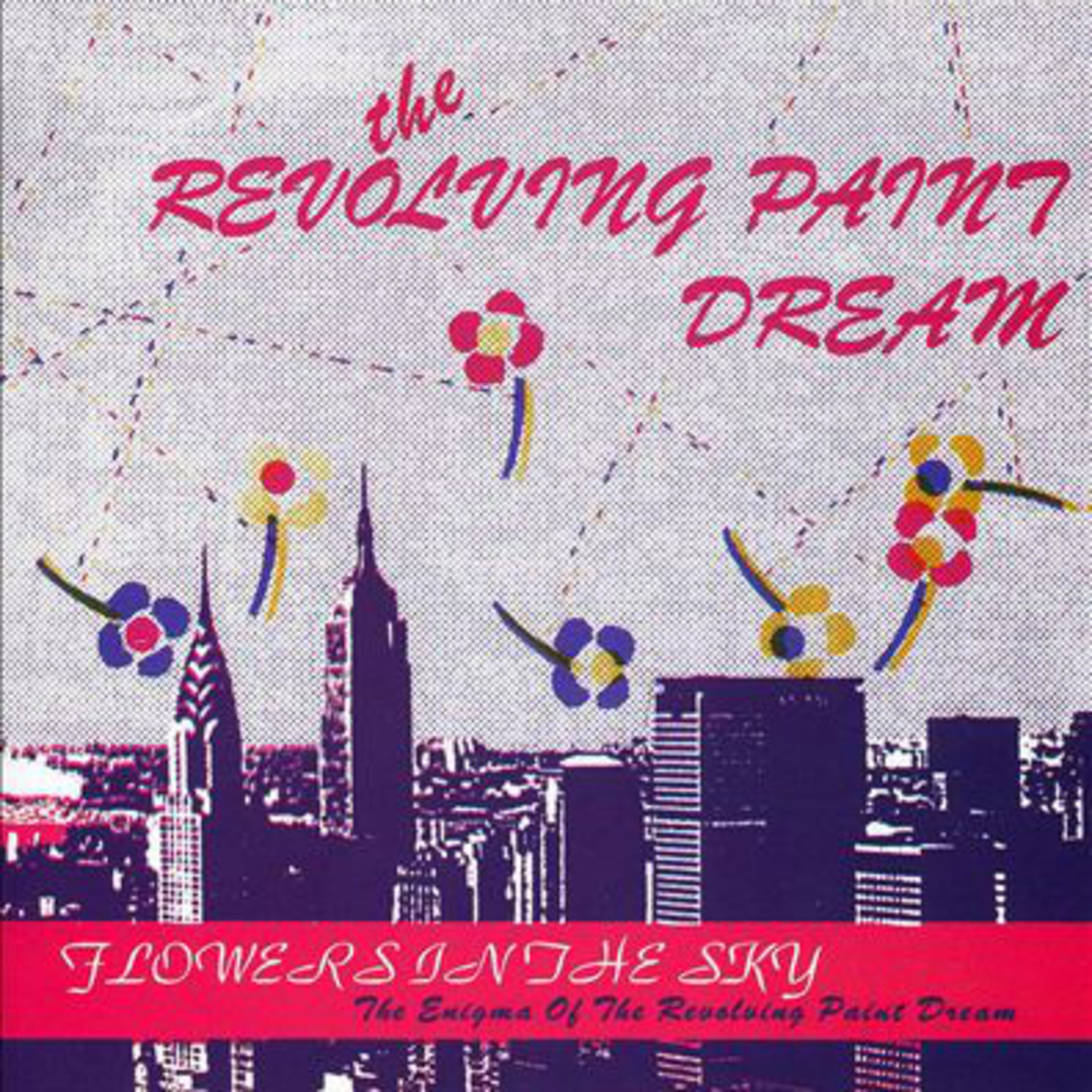 """CRE002 - Revolving Paint Dream - """"Flowers In The Sky"""" w/ Ken Popple (Biff! Bang! Pow!, Revolving Paint Dream, Laughing Apple)"""