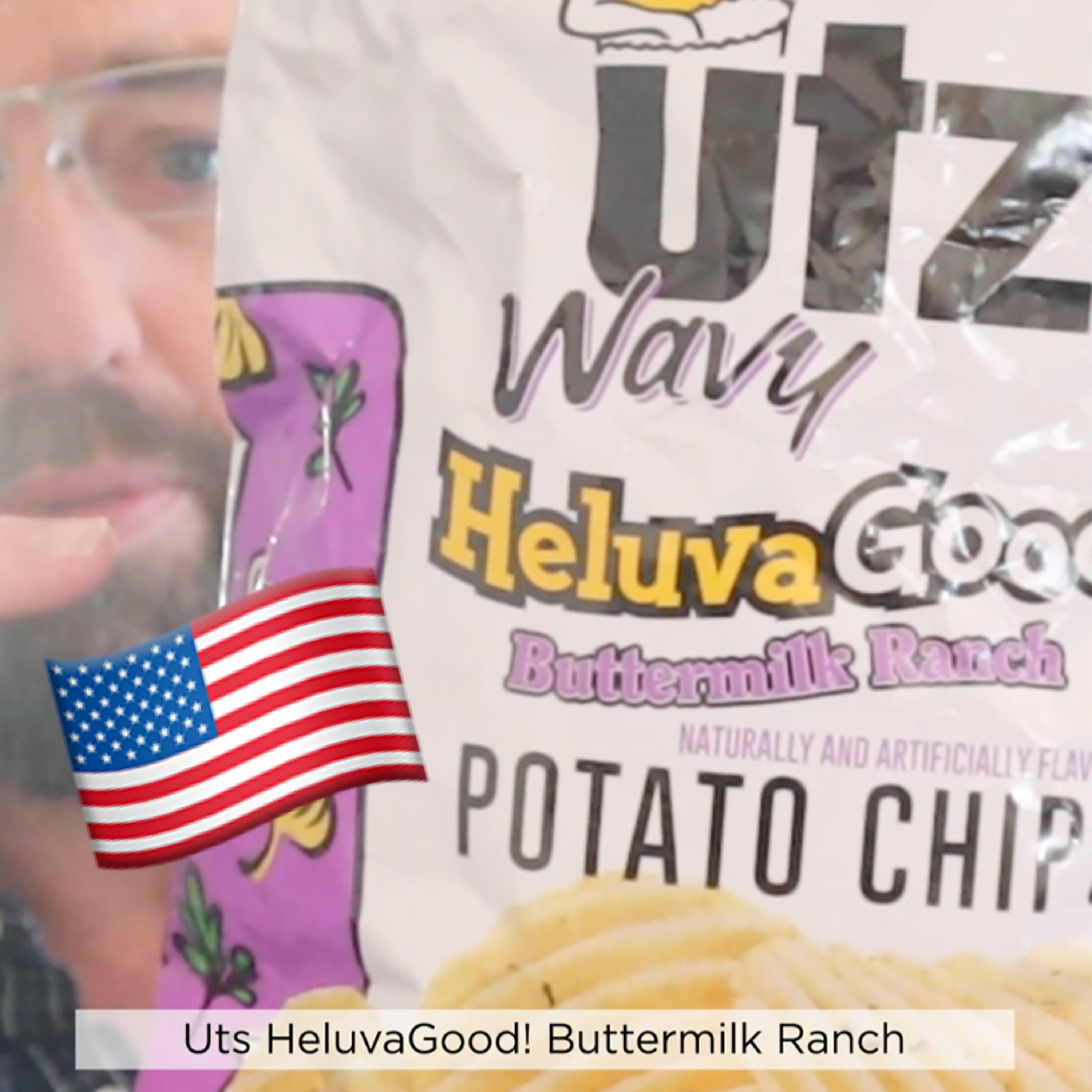 ?? Utz Buttermilk Ranch potato chips on In The Chips with Barry