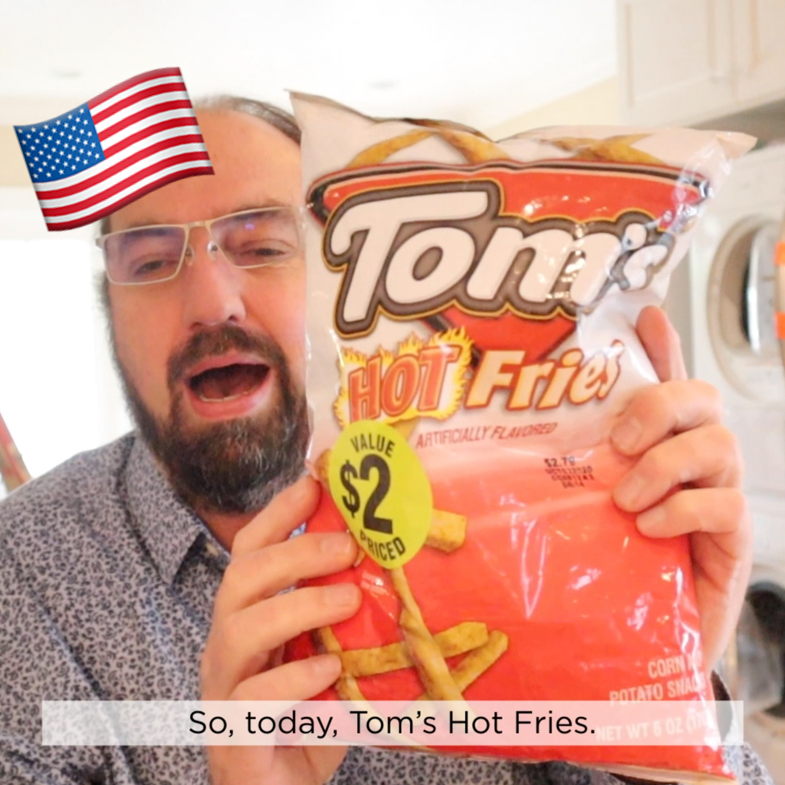 ?? Tom's Hot Fries on In The Chips with Barry