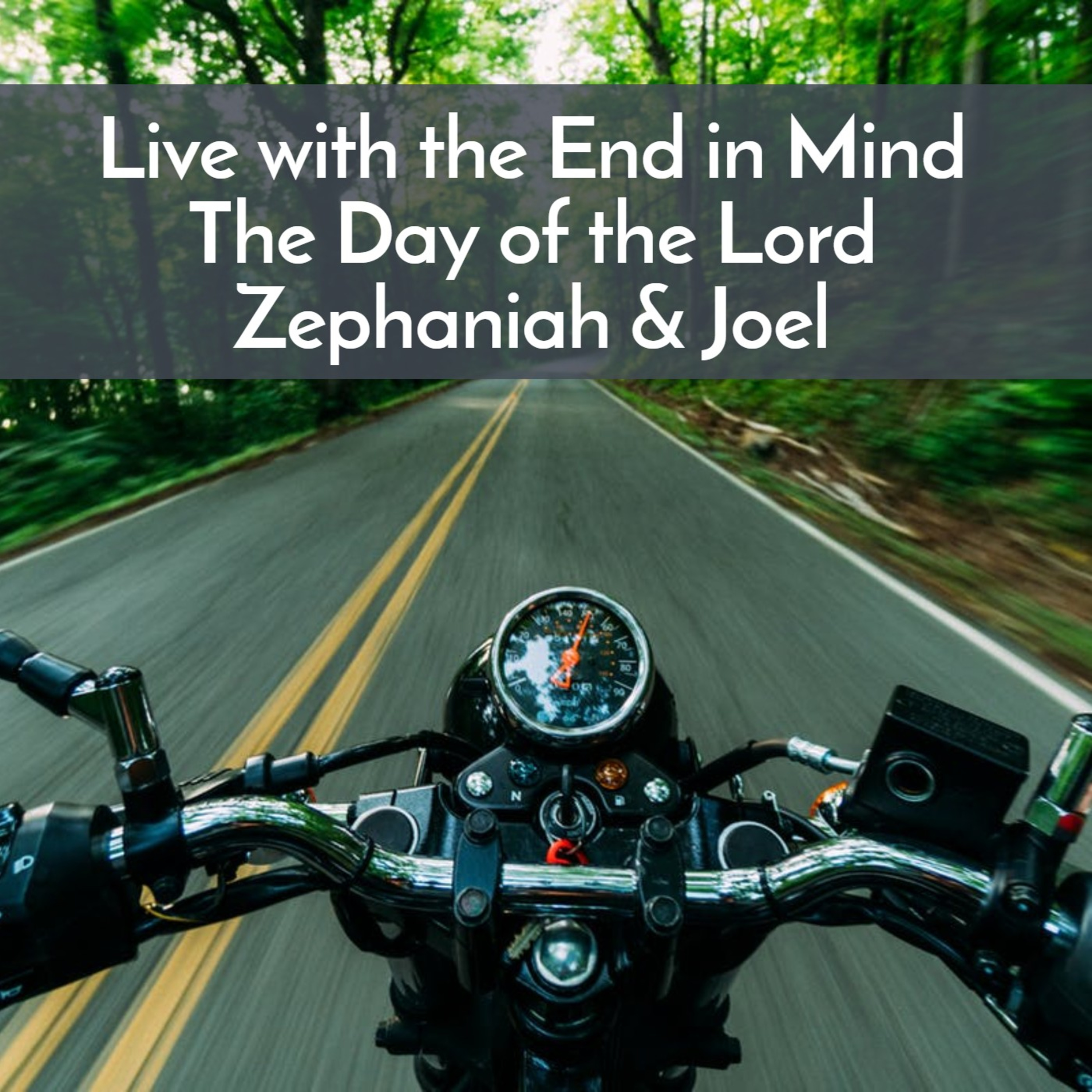 #46 Live with the end in mind, the Day of the Lord as told in Zephaniah and Joel