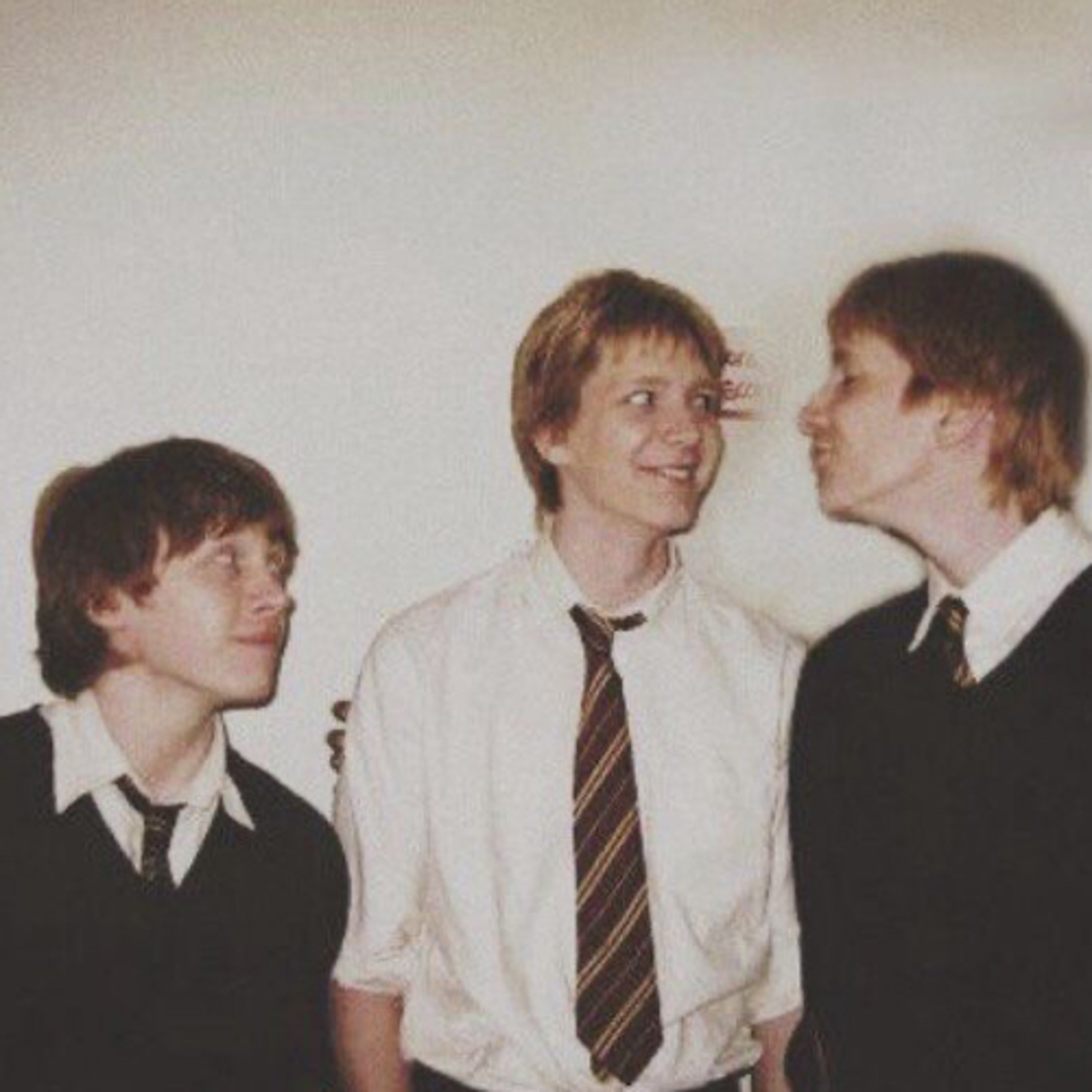 fred and george try to keep quiet while you sleep.