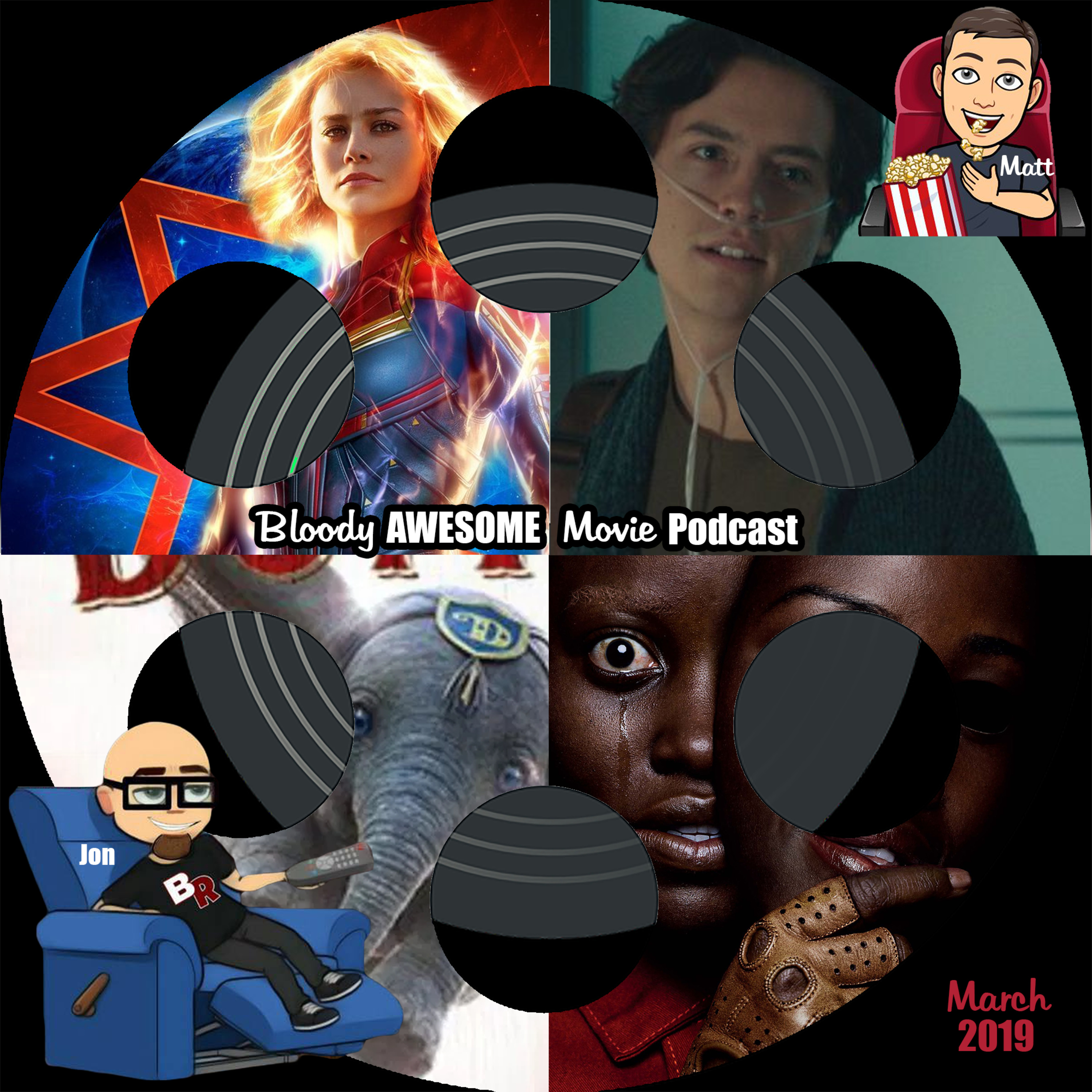 Bloody Awesome Movie Podcast - March 2019