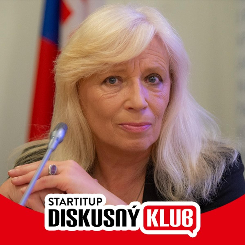 [Diskusný klub] Iveta Radičová: Sebareflexiu by vo vláde mali mať viacerí