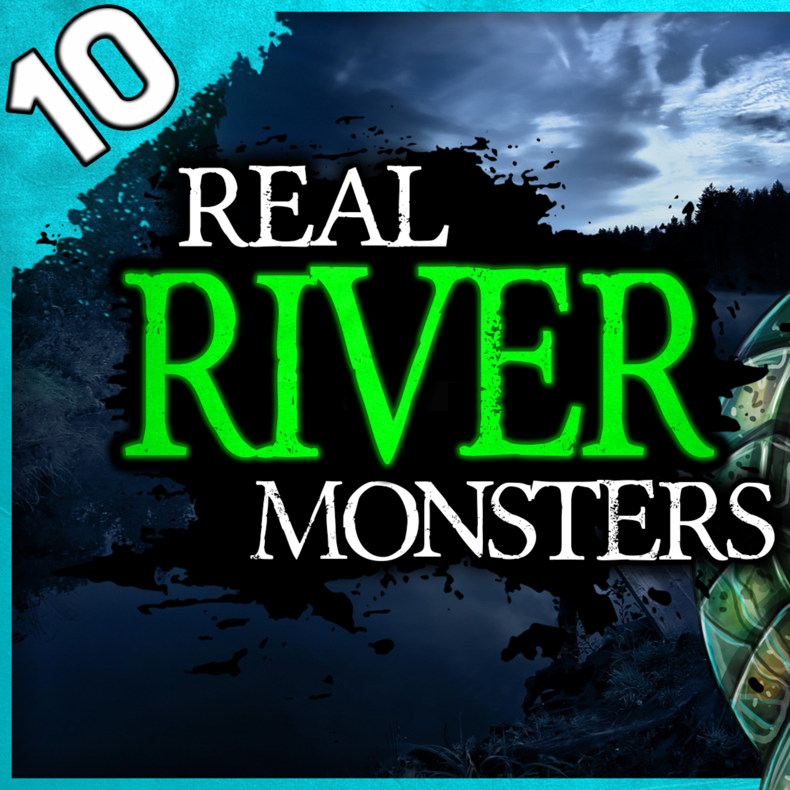 10 REAL River Monster Sightings | Darkness Prevails