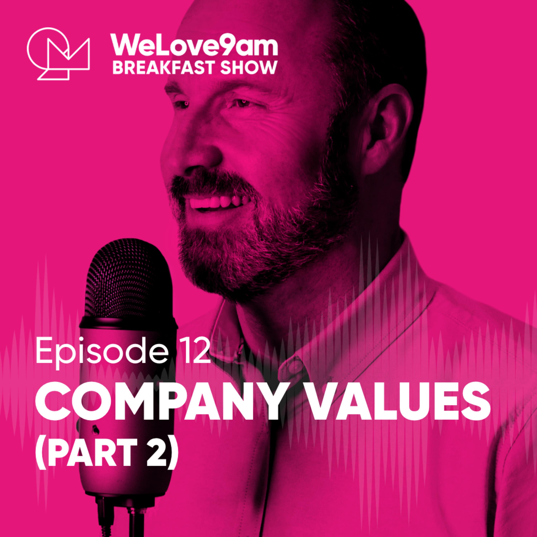 E12. Company values (part 2)