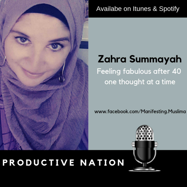 Zahra Summayah - CEO Manifesting Muslimah Coaching
