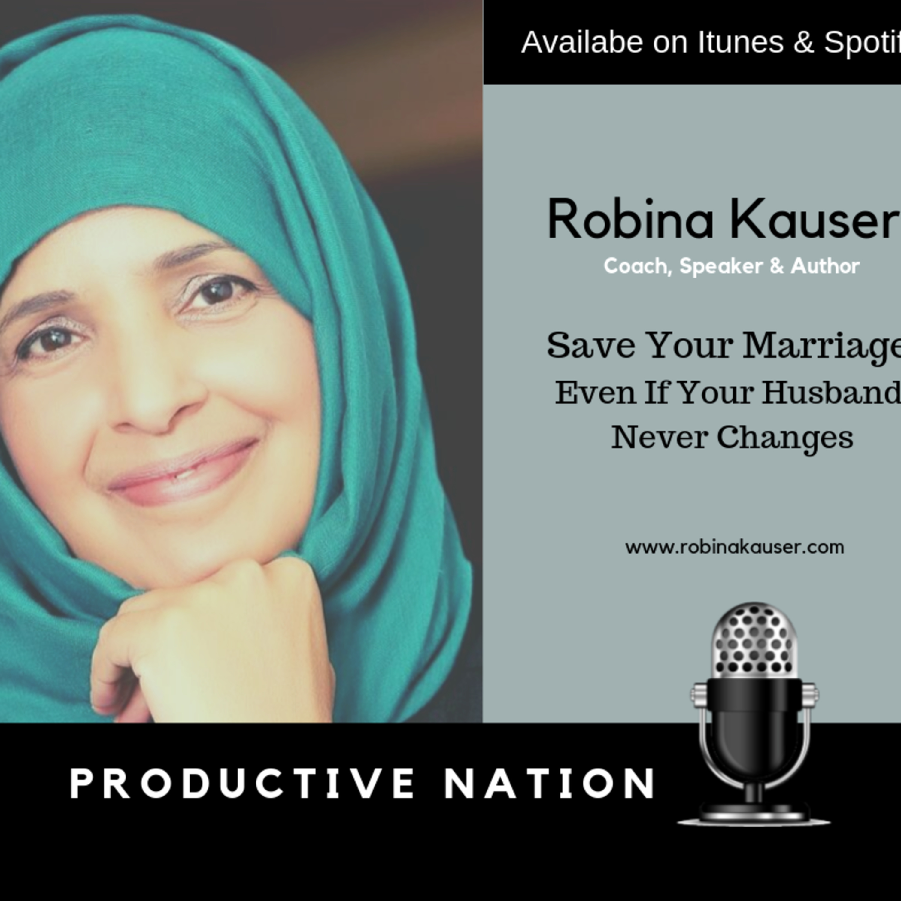 Save your marriage even if your husband  never changes - Robina Kauser