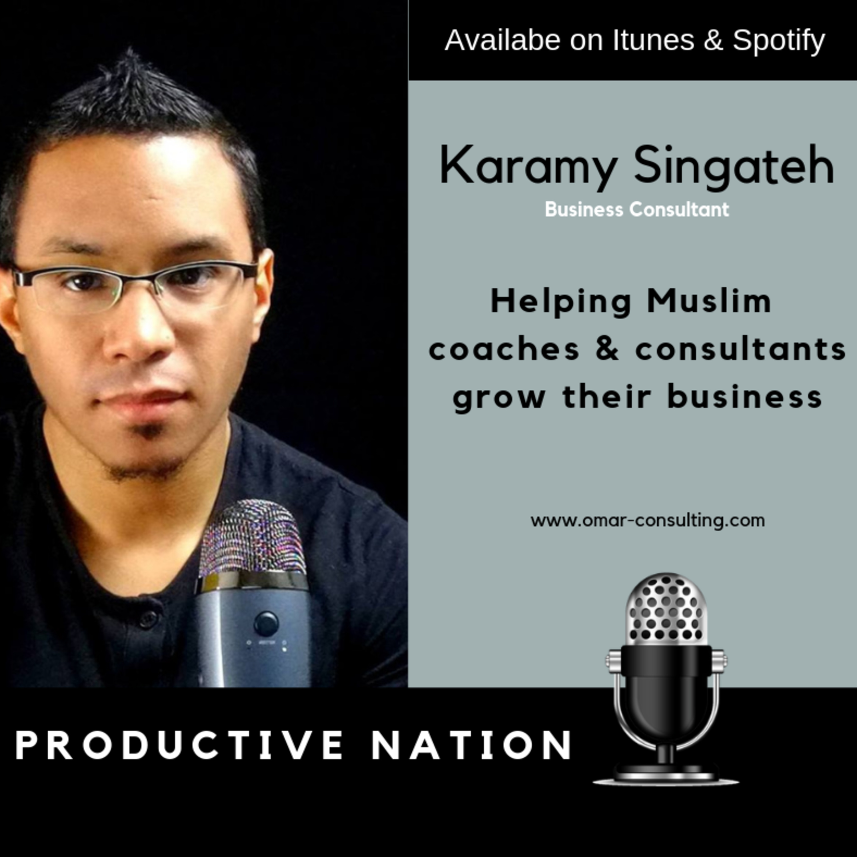 Helping Muslim coaches & consultants grow their business - Karamy Singateh
