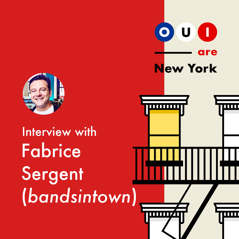 Fabrice Sergent (bandsintown) : De la création de Club Internet en 1995, à Bandsintown, Fabrice est resté en haut de la vague 🌊